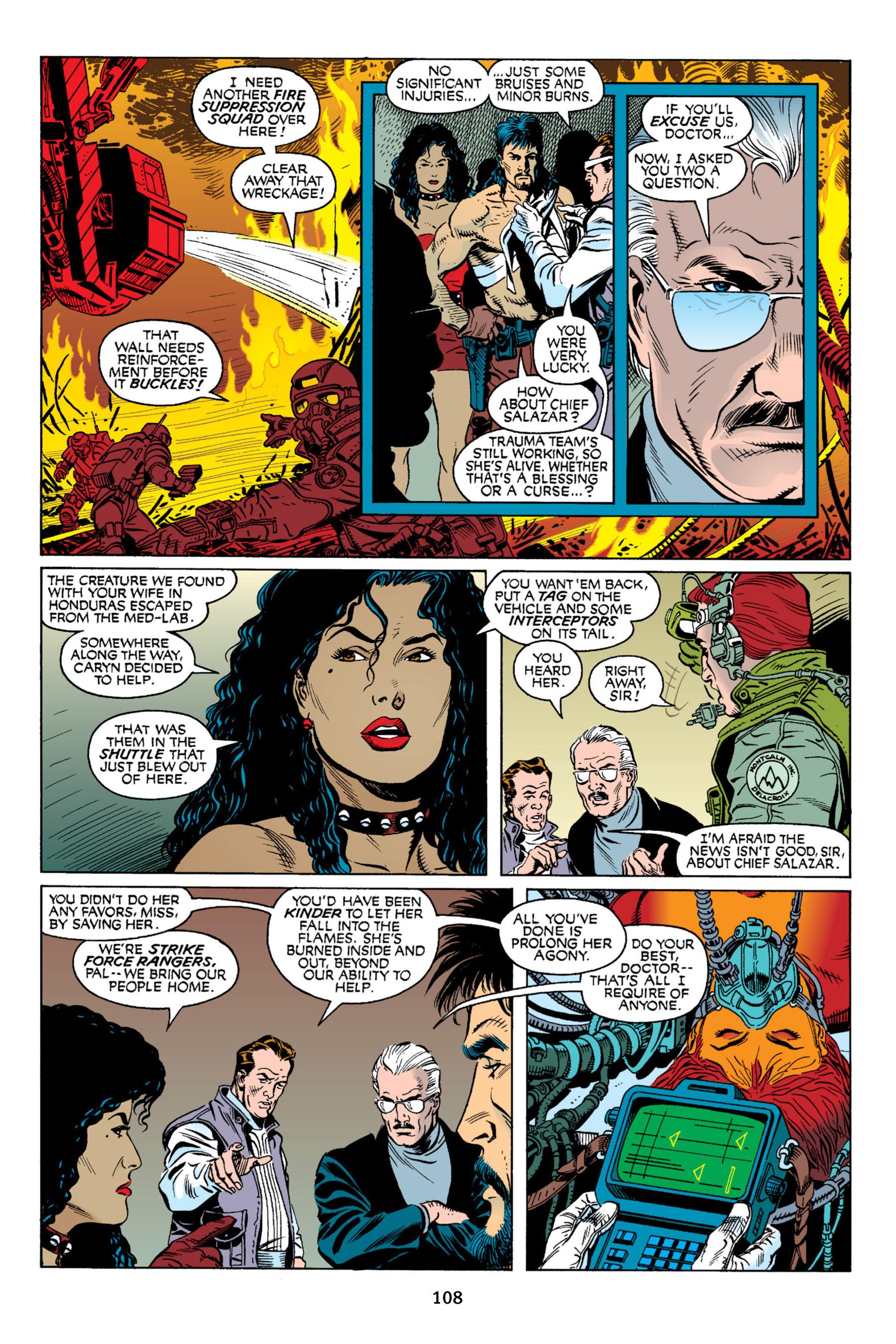 Read online Aliens vs. Predator Omnibus comic -  Issue # _TPB 2 Part 1 - 107