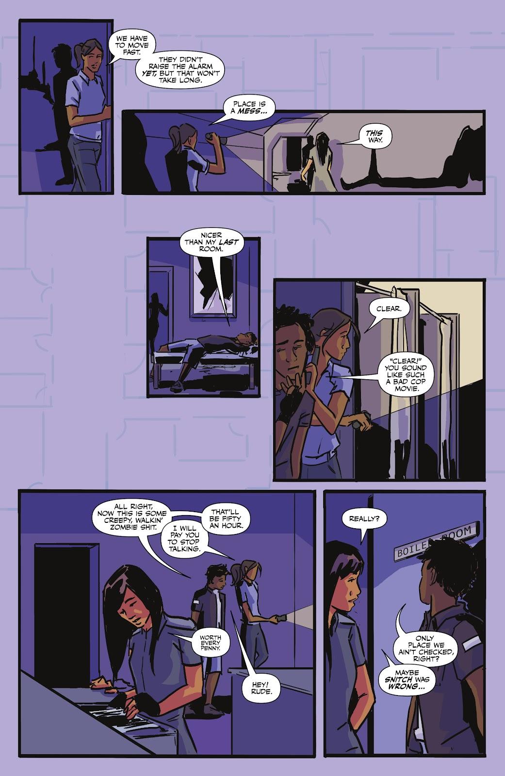 Read online Black (AF): Devil's Dye comic -  Issue #3 - 20
