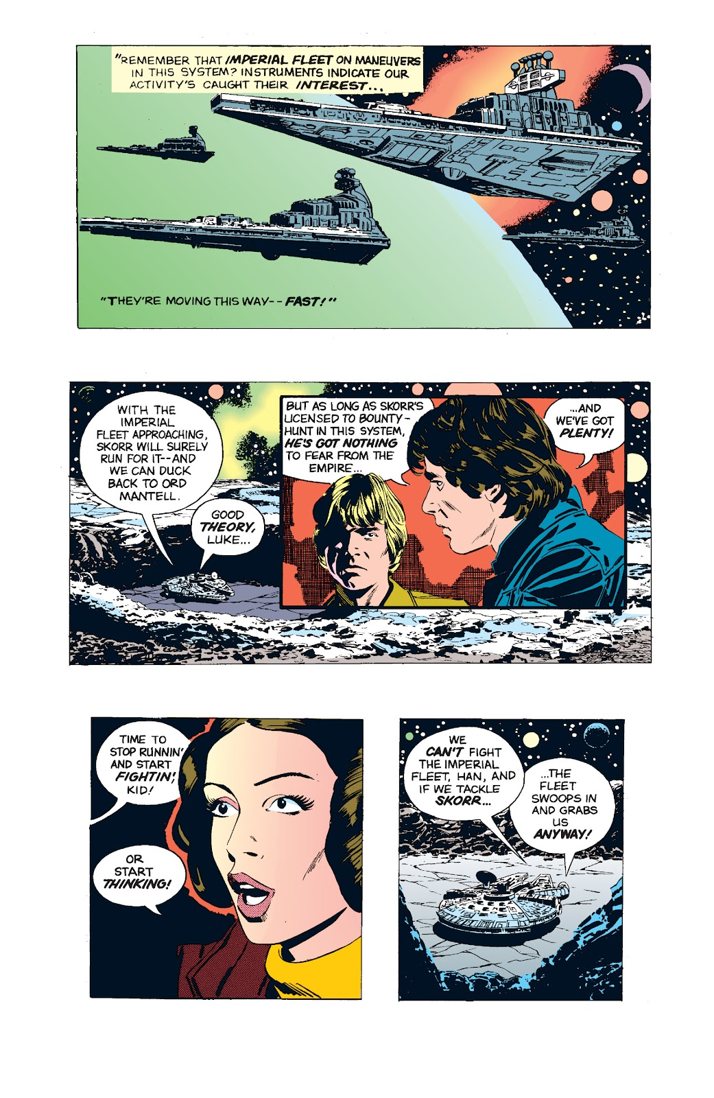 Read online Star Wars Legends: The Newspaper Strips - Epic Collection comic -  Issue # TPB (Part 5) - 21