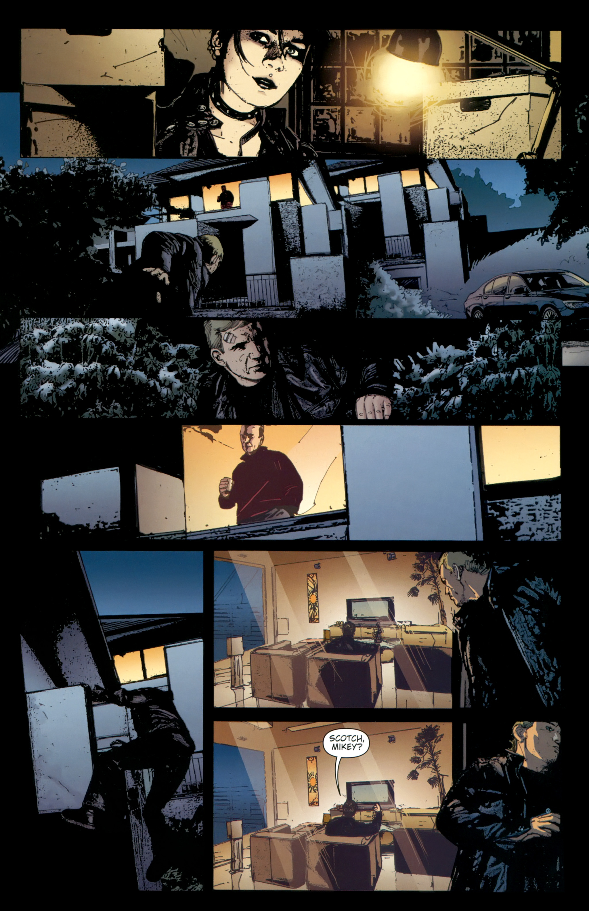 Read online The Girl With the Dragon Tattoo comic -  Issue # TPB 2 - 79