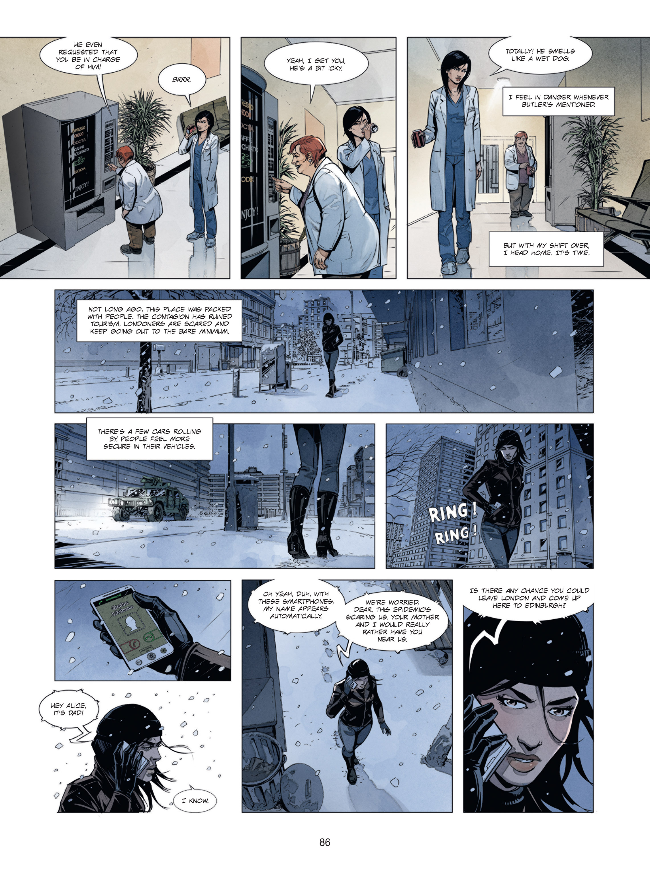 Read online Alice Matheson comic -  Issue #1 - 85