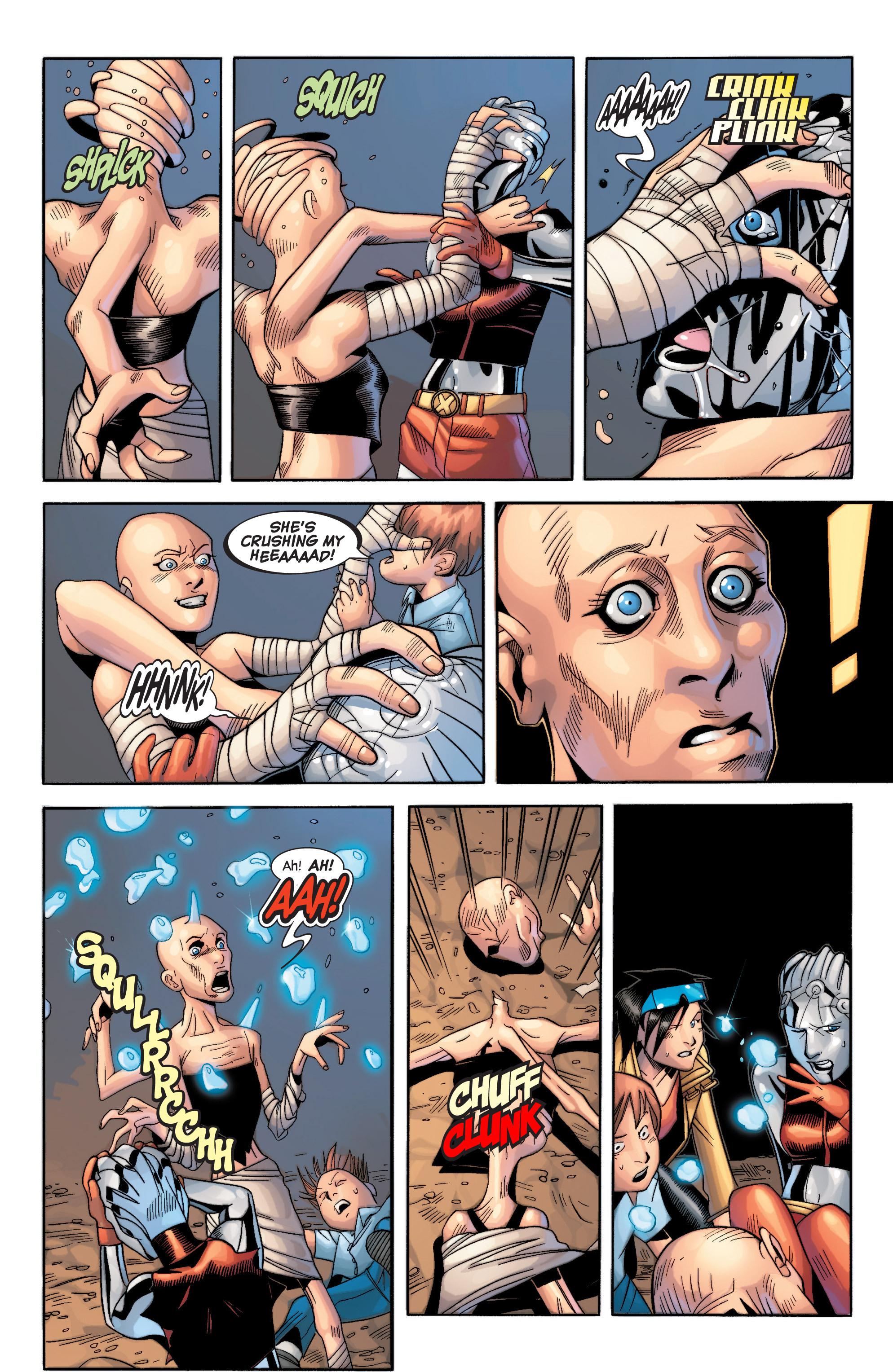 Read online Uncanny X-Men (1963) comic -  Issue #434 - 16