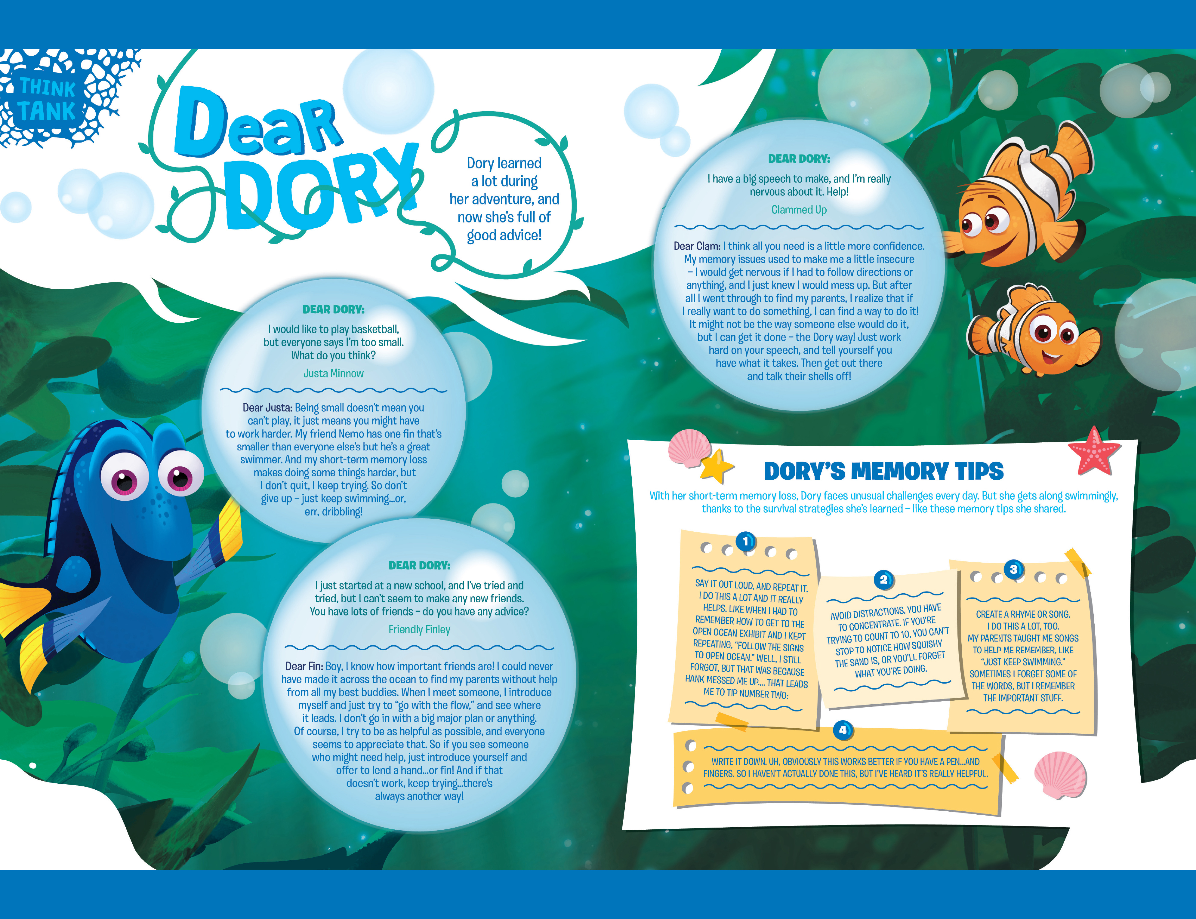 Read online Disney Pixar Finding Dory comic -  Issue #2 - 28