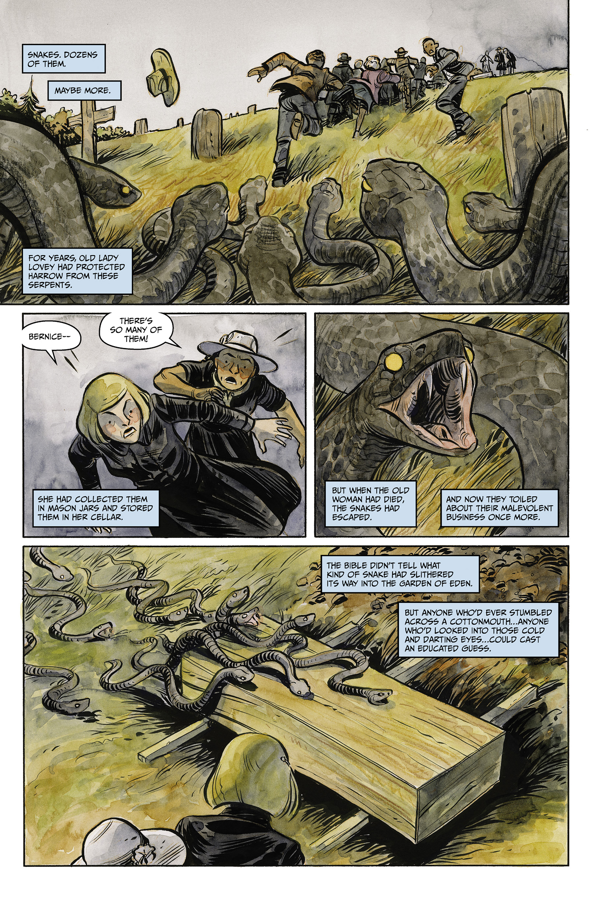 Read online Harrow County comic -  Issue #23 - 7