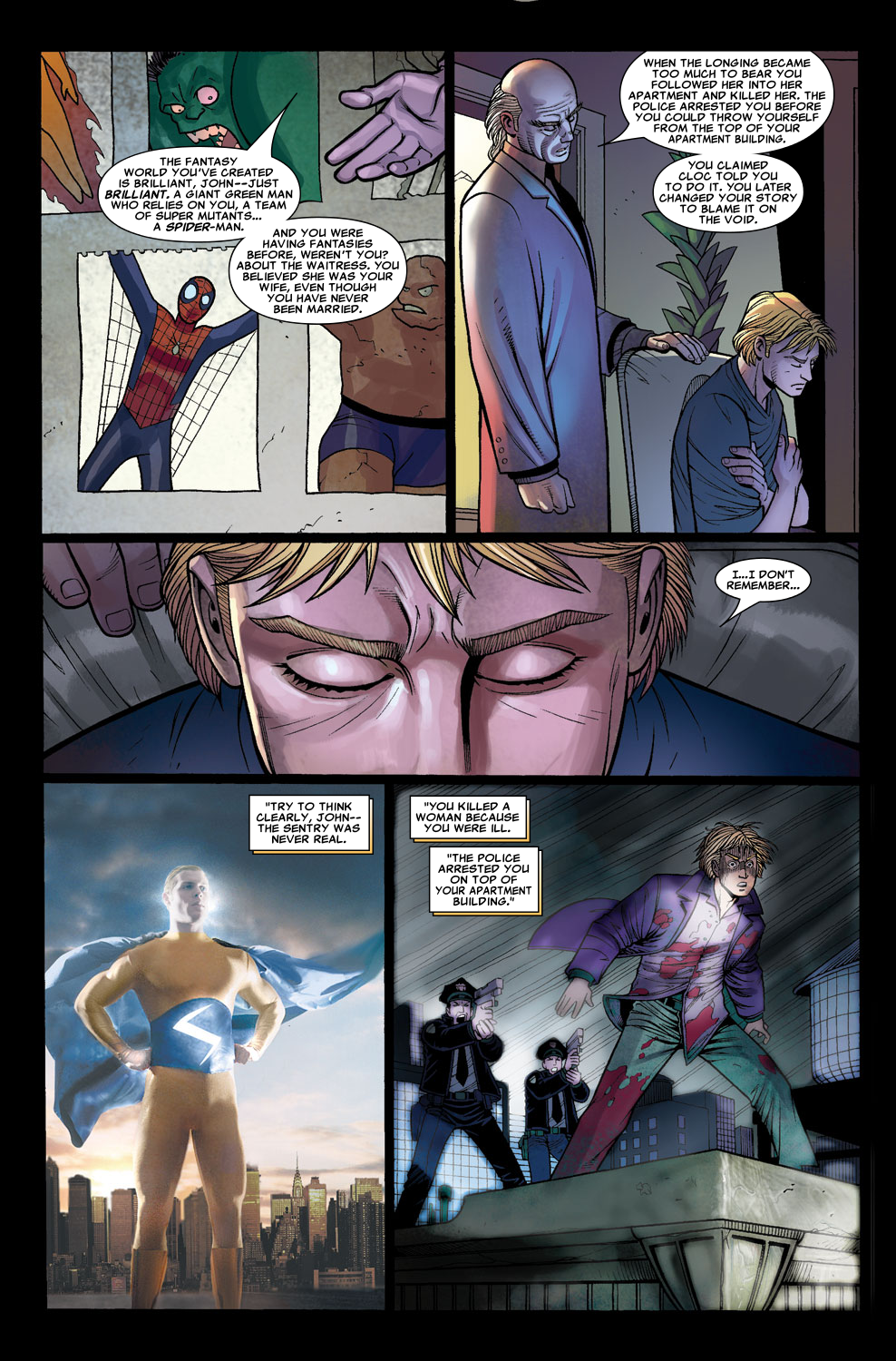 Read online Sentry (2006) comic -  Issue #7 - 12
