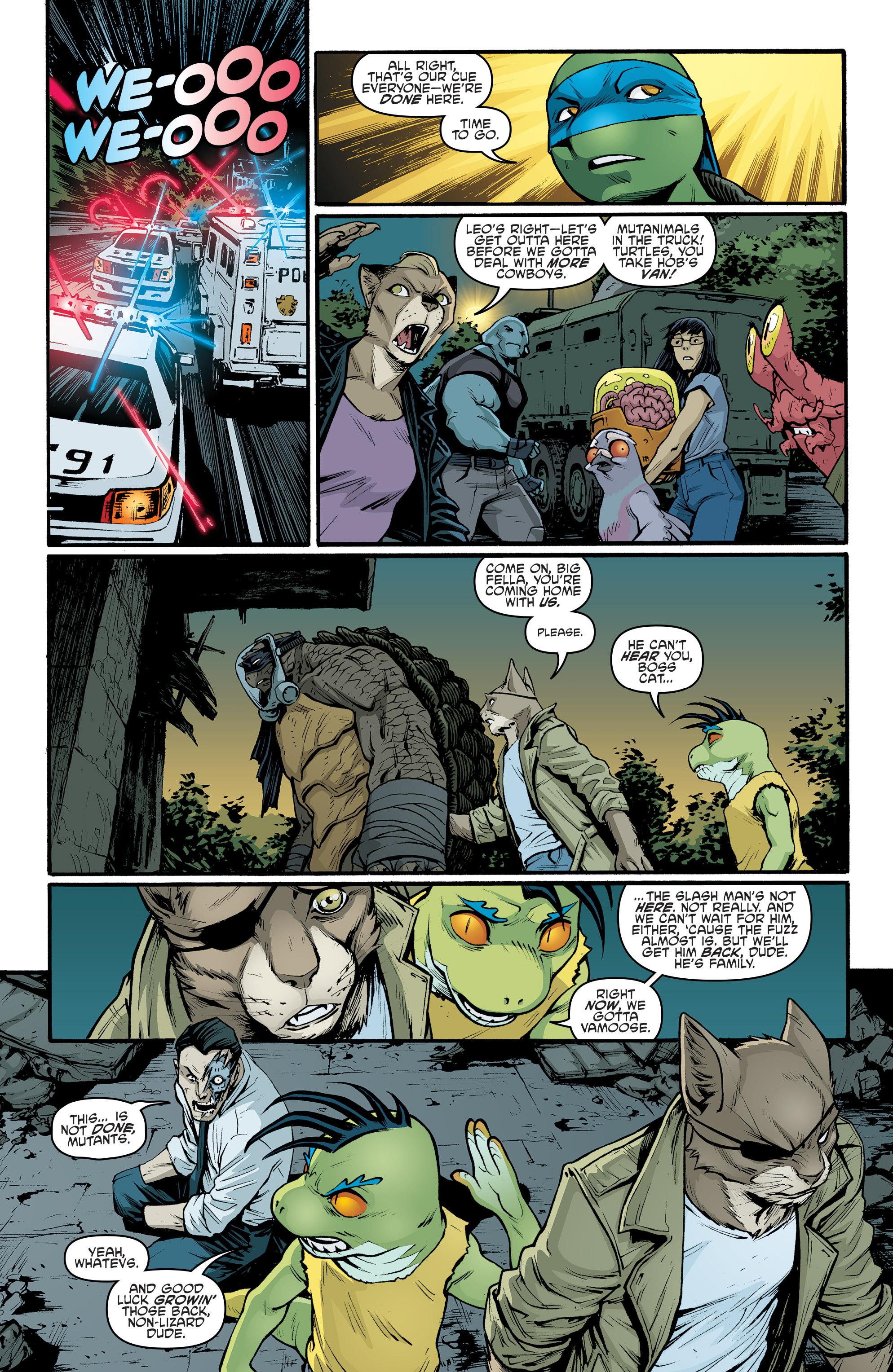 Read online Teenage Mutant Ninja Turtles (2011) comic -  Issue #70 - 21