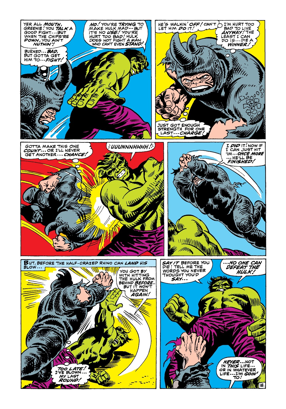 Read online Marvel Masterworks: The Incredible Hulk comic -  Issue # TPB 4 (Part 1) - 46