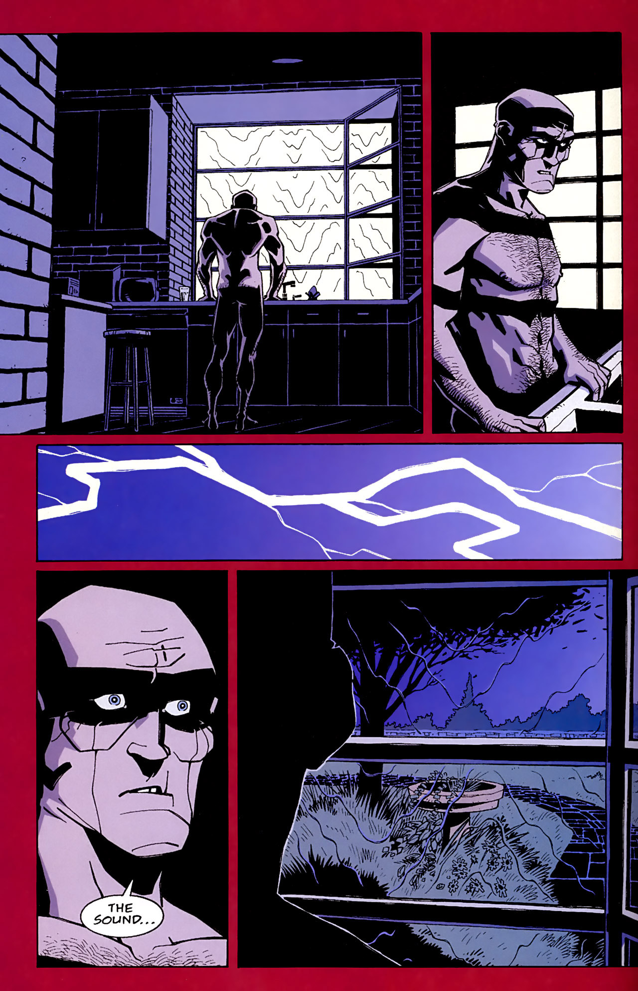 Read online Red comic -  Issue #1 - 6
