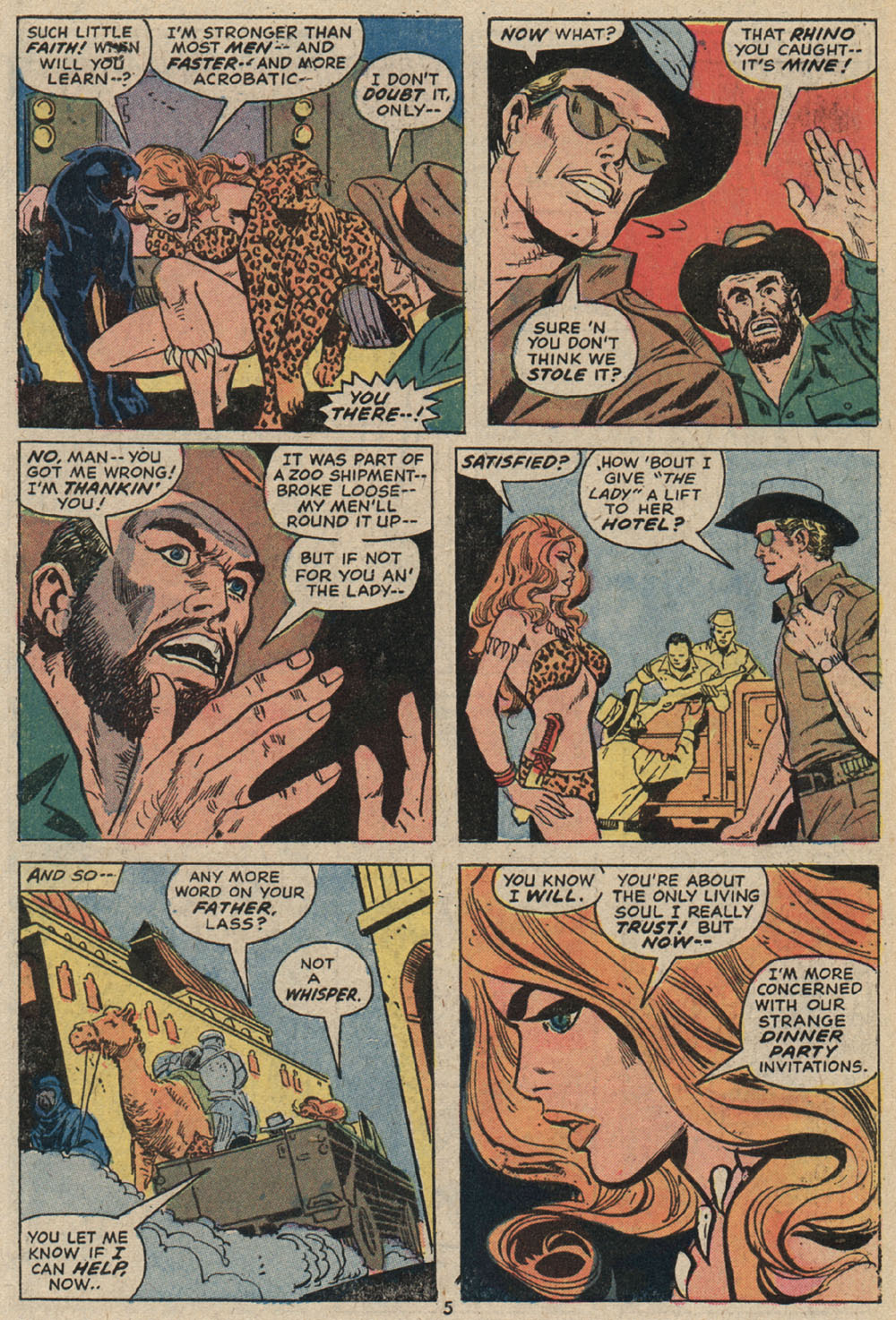 Read online Shanna, the She-Devil (1972) comic -  Issue #4 - 5