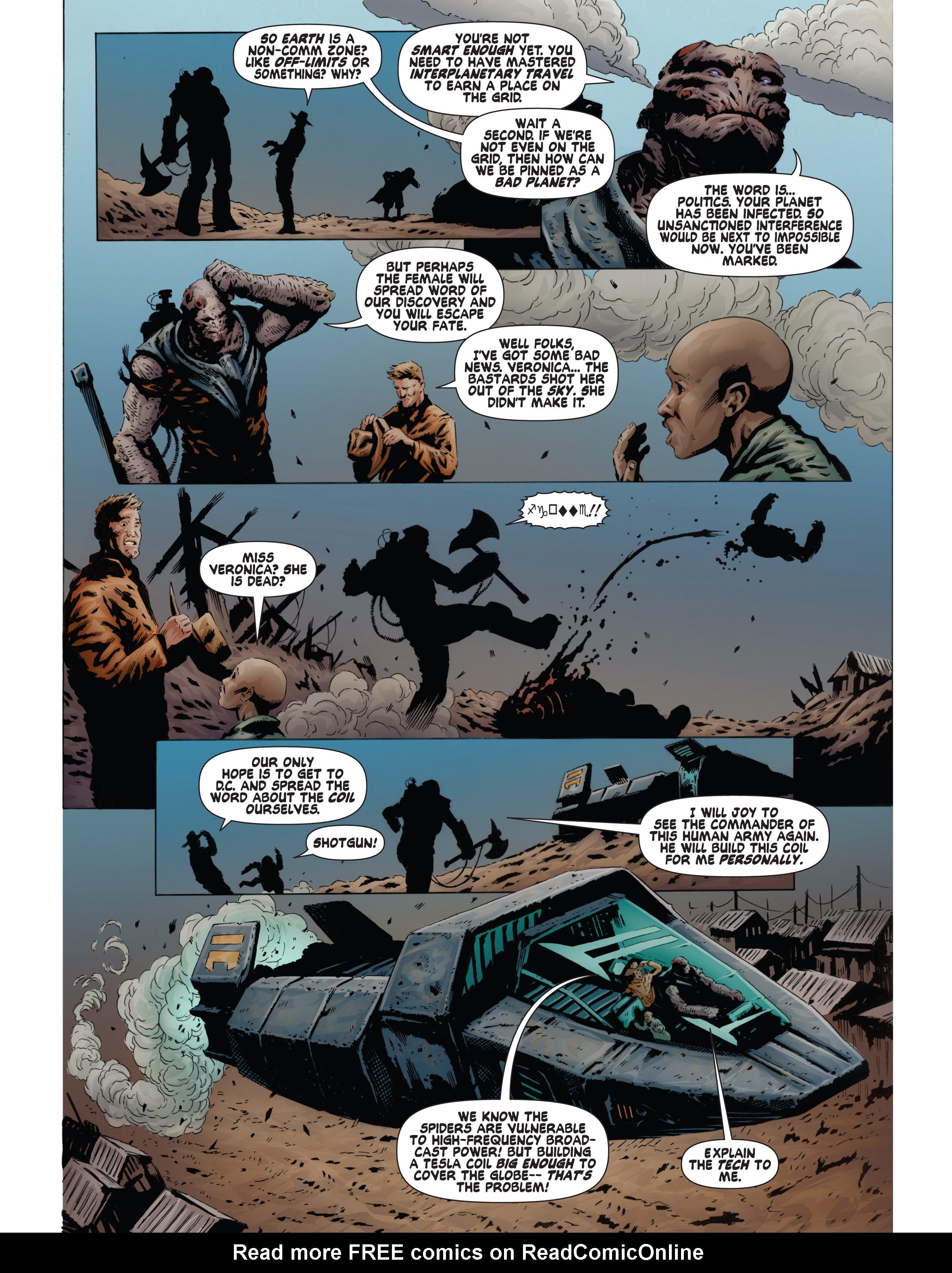 Read online Bad Planet comic -  Issue # TPB - 121