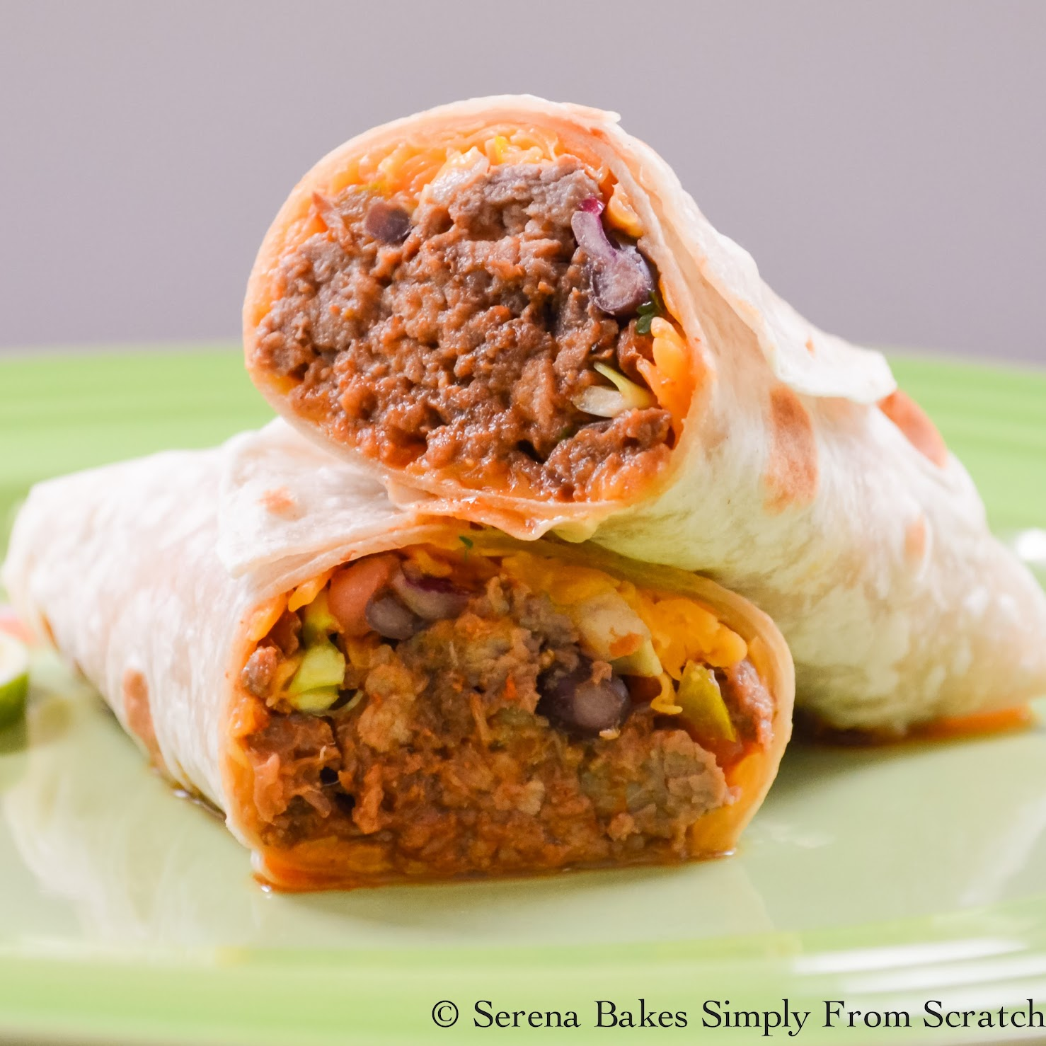 Crockpot Barbacoa Beef is the perfect filling! www.serenabakessimplyfromscratch.com
