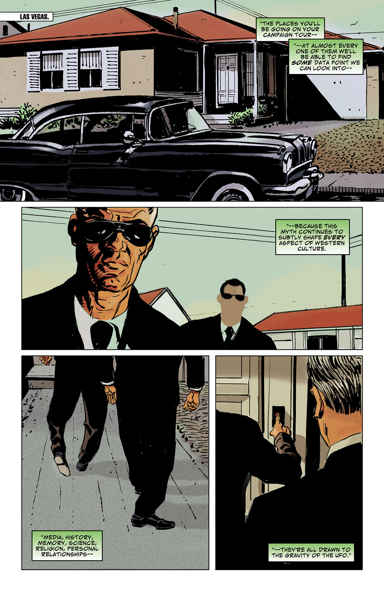 Read online Saucer Country comic -  Issue #6 - 20
