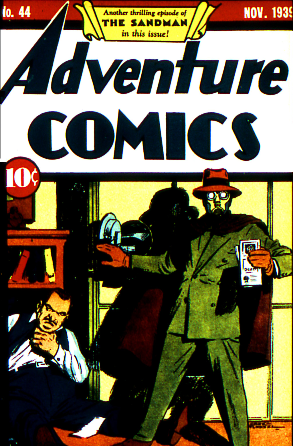 Read online Adventure Comics (1938) comic -  Issue #44 - 1
