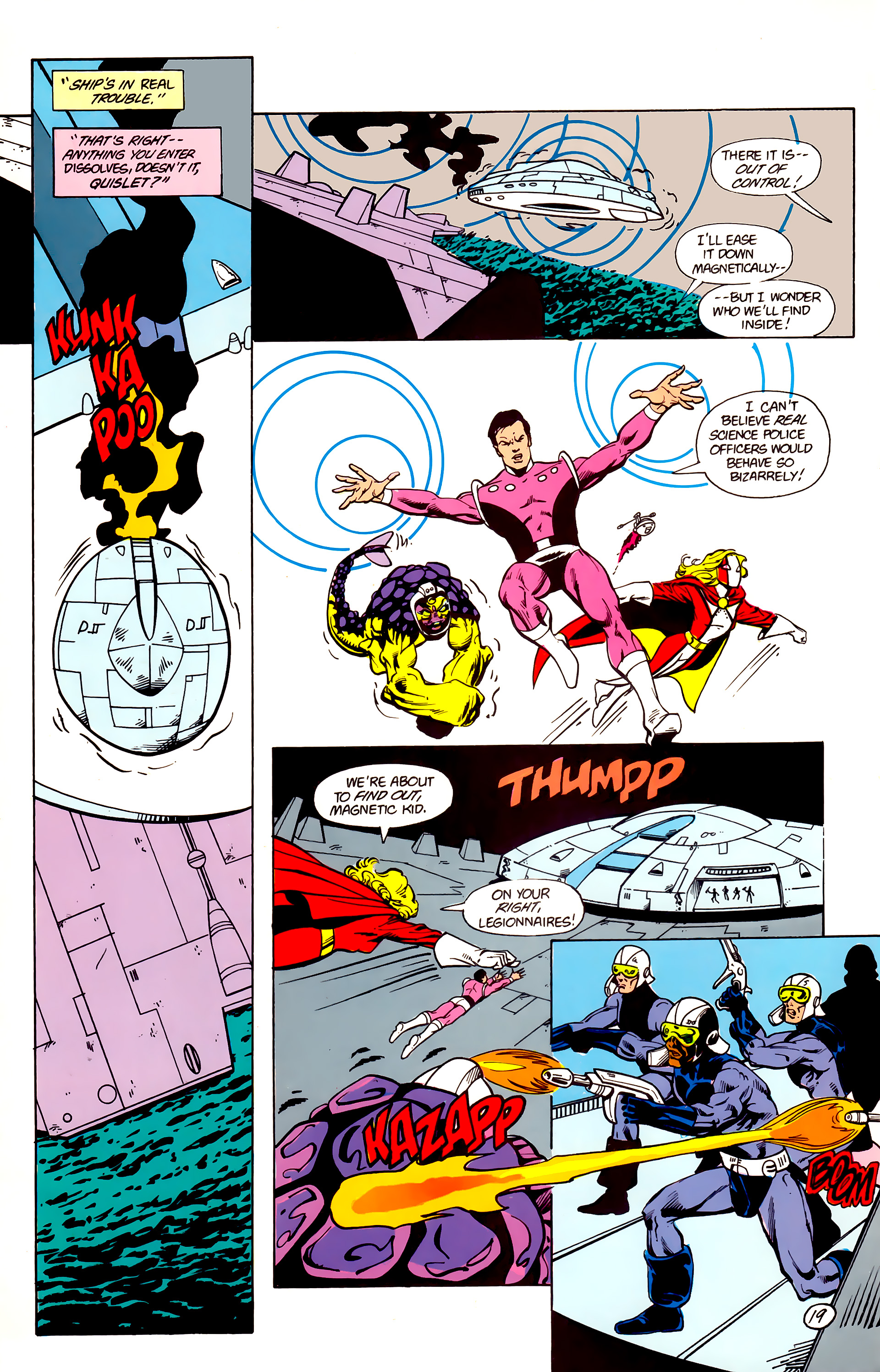 Legion of Super-Heroes (1984) 16 Page 20