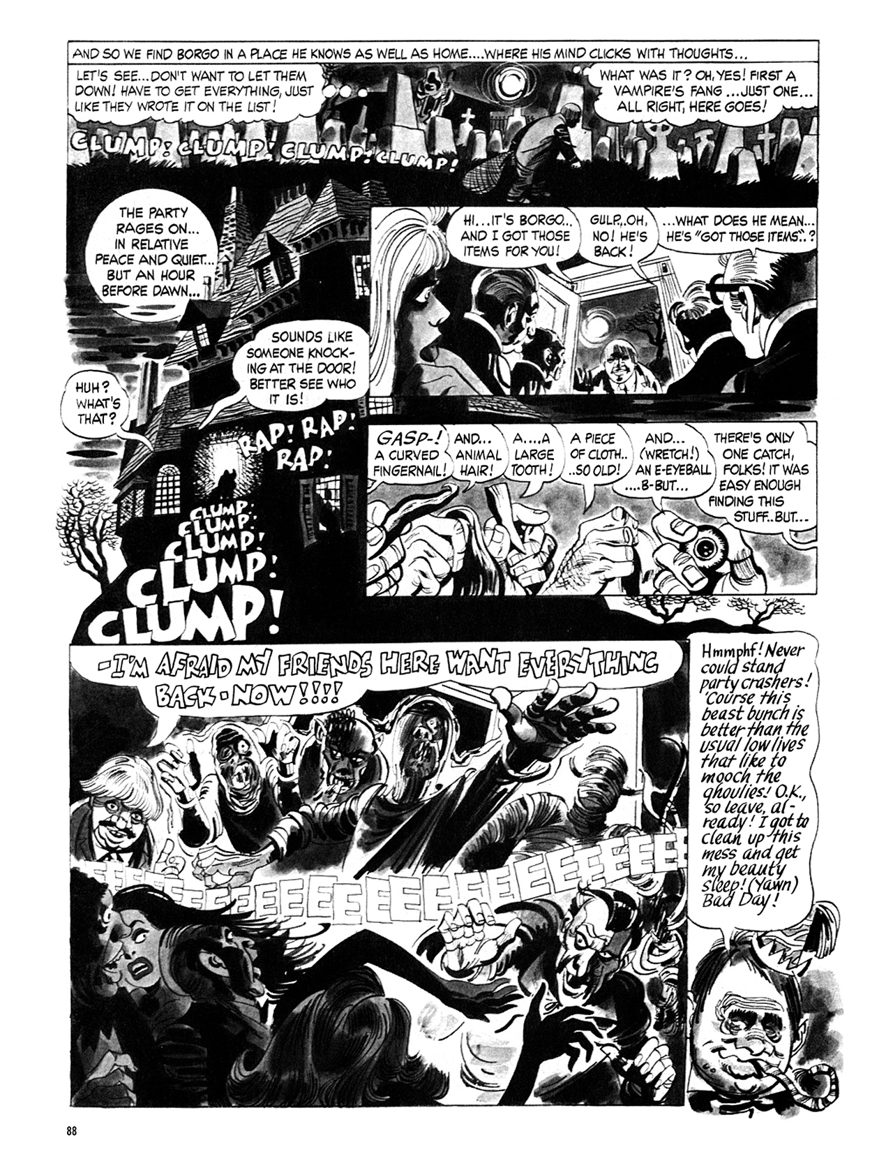 Read online Eerie Archives comic -  Issue # TPB 5 - 89