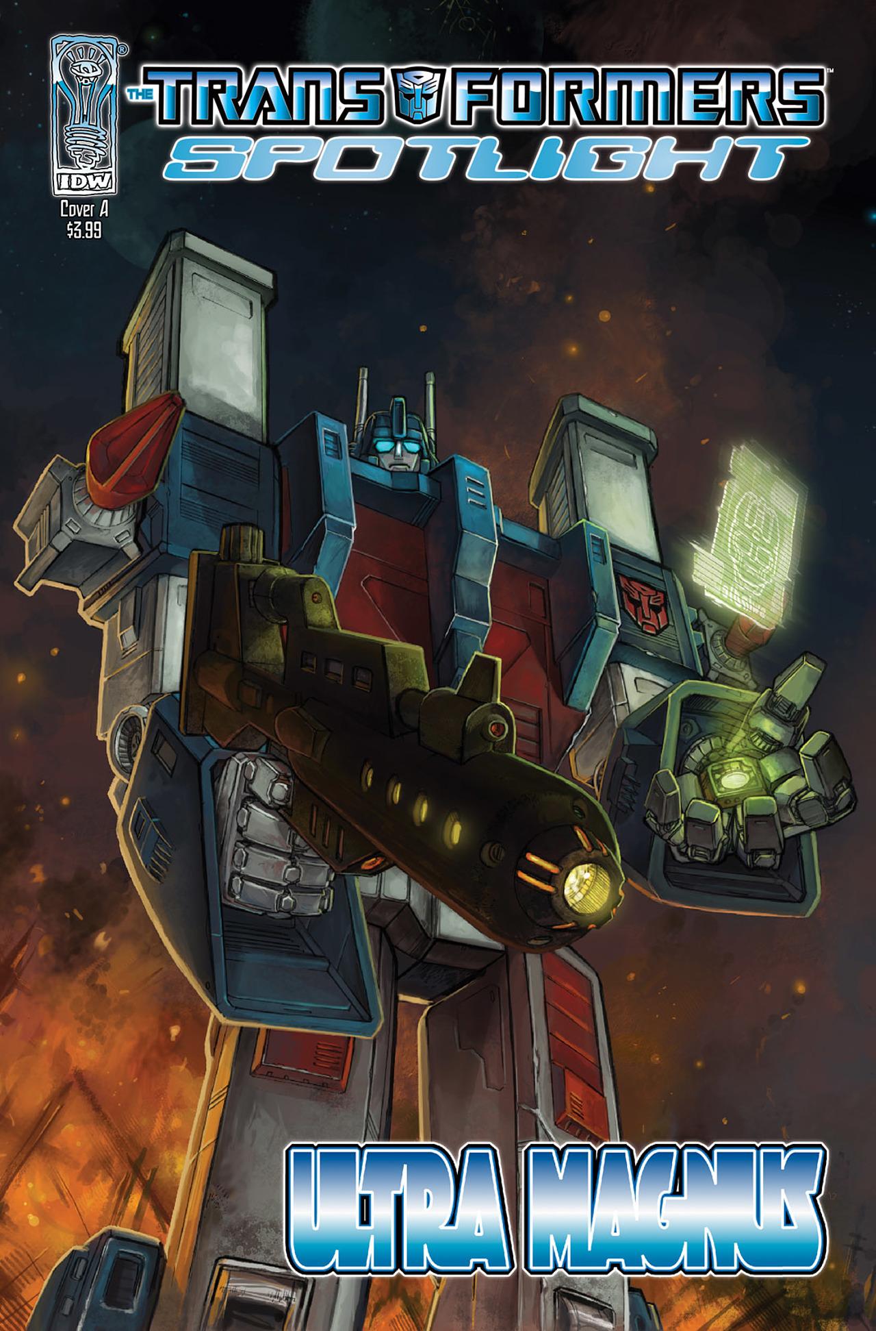 Read online Transformers Spotlight: Ultra Magnus comic -  Issue # Full - 1