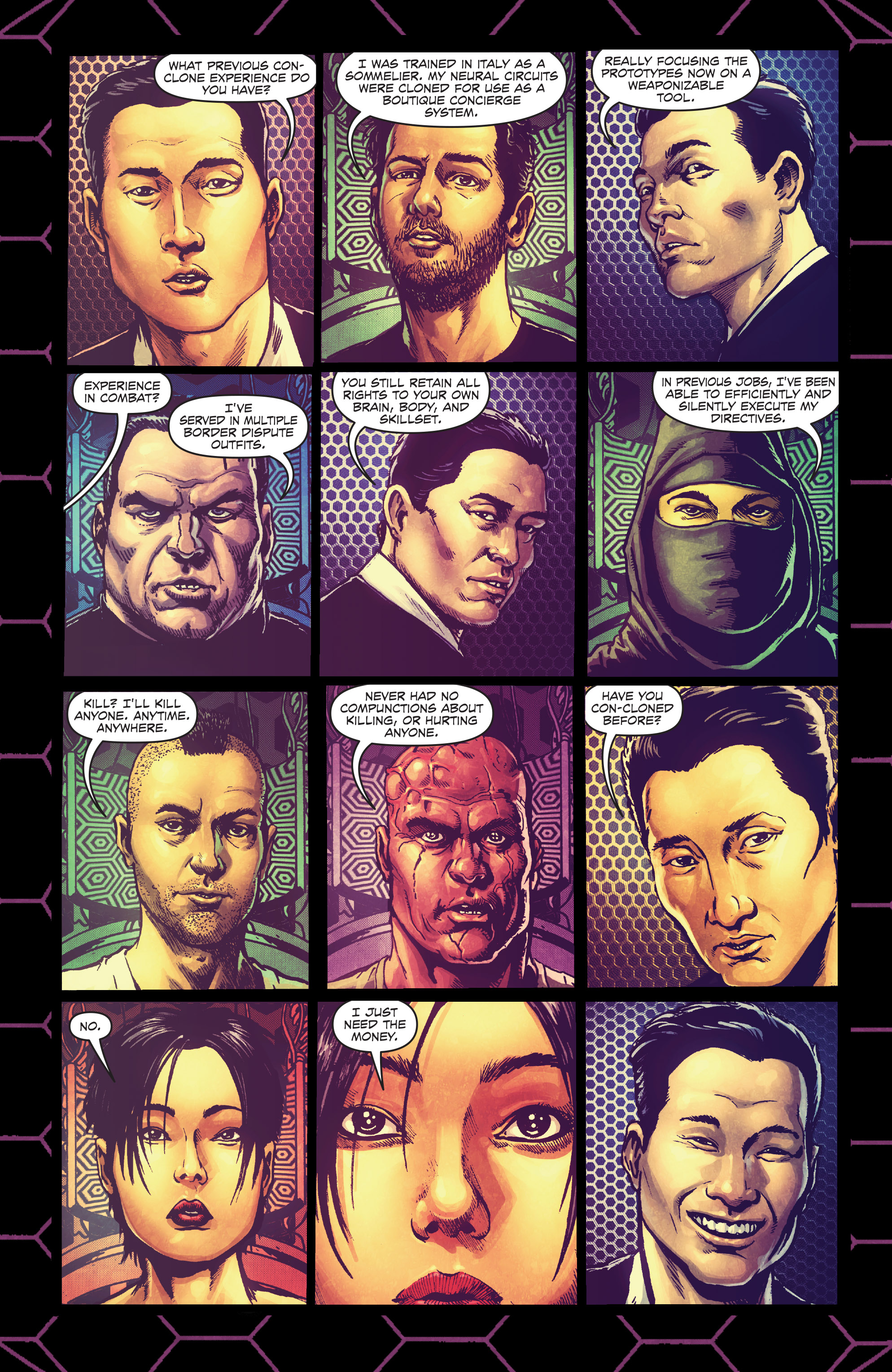 Read online Ballistic (2013) comic -  Issue #4 - 10