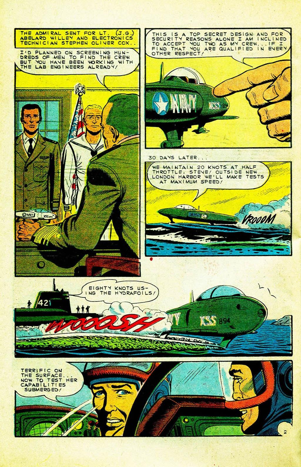 Read online Fightin' Navy comic -  Issue #128 - 3