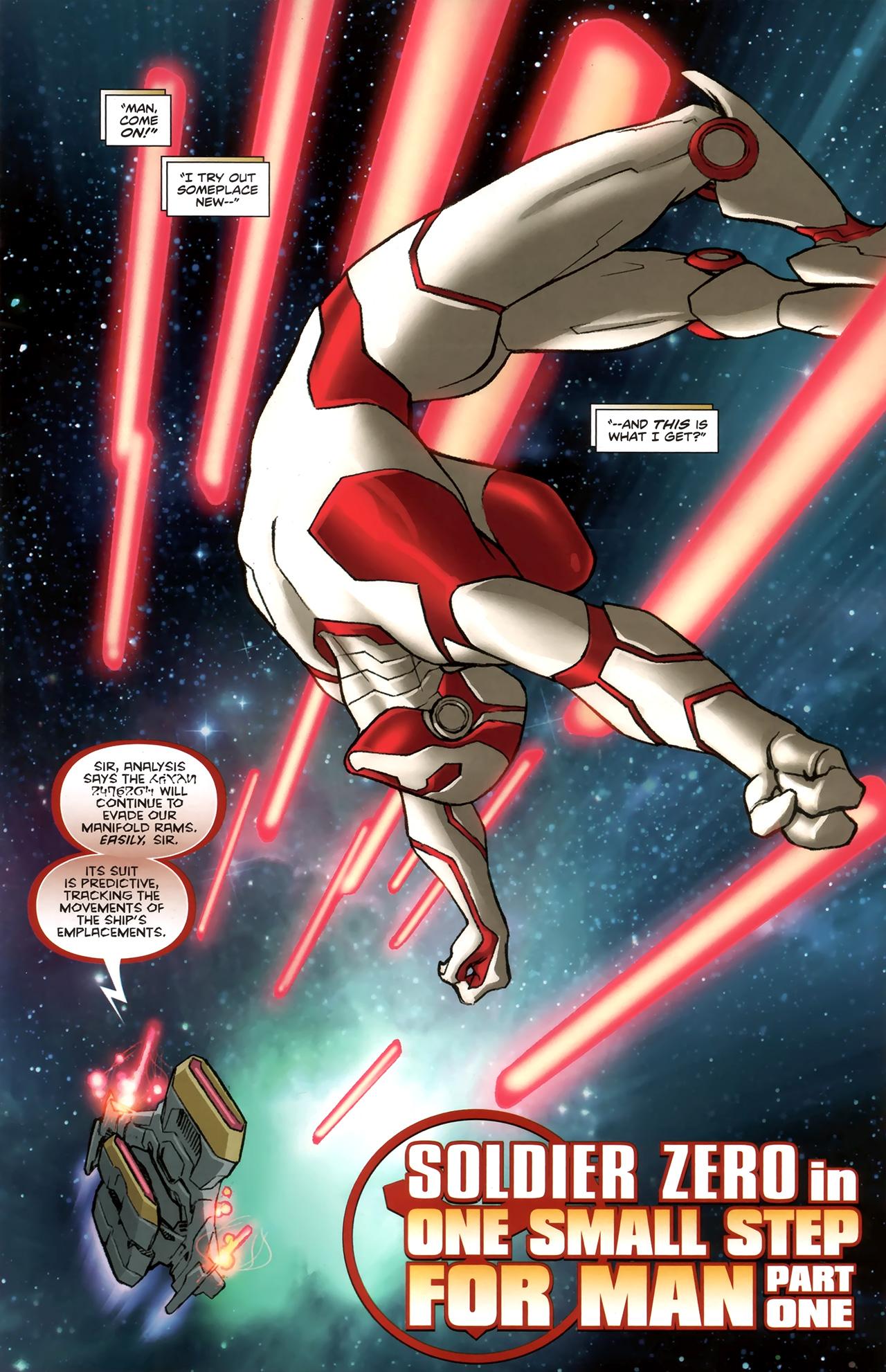 Read online Soldier Zero comic -  Issue #1 - 4