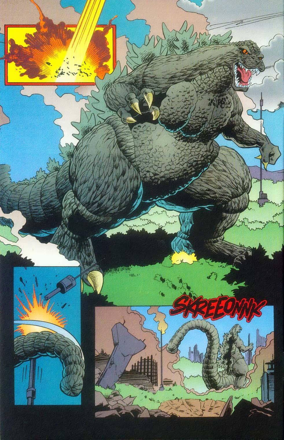 Godzilla (1995) Issue #12 #13 - English 13