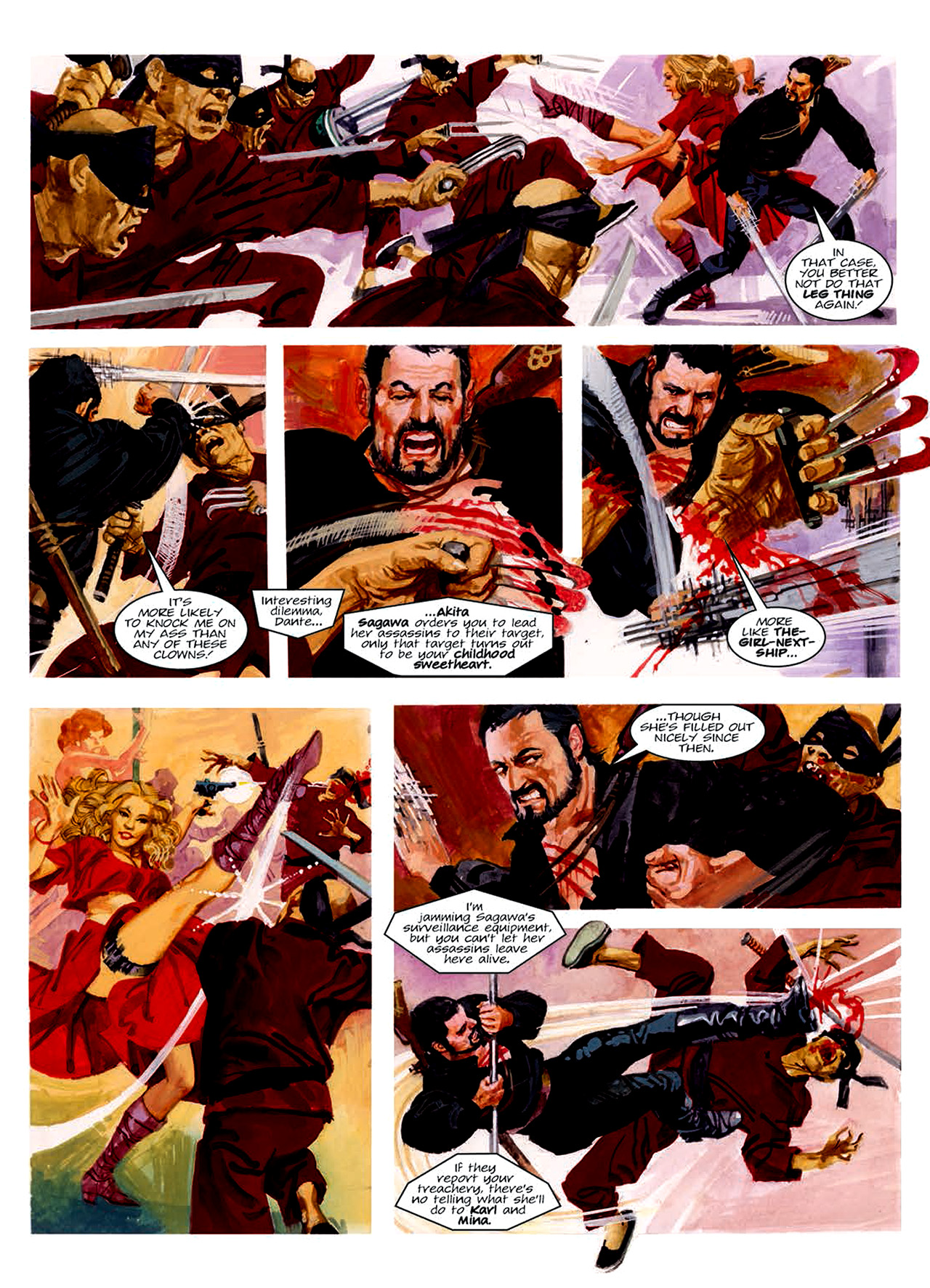 Read online Nikolai Dante comic -  Issue # TPB 6 - 164