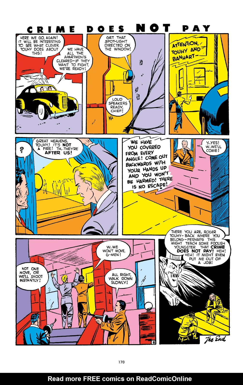 Read online Crime Does Not Pay Archives comic -  Issue # TPB 2 (Part 2) - 70