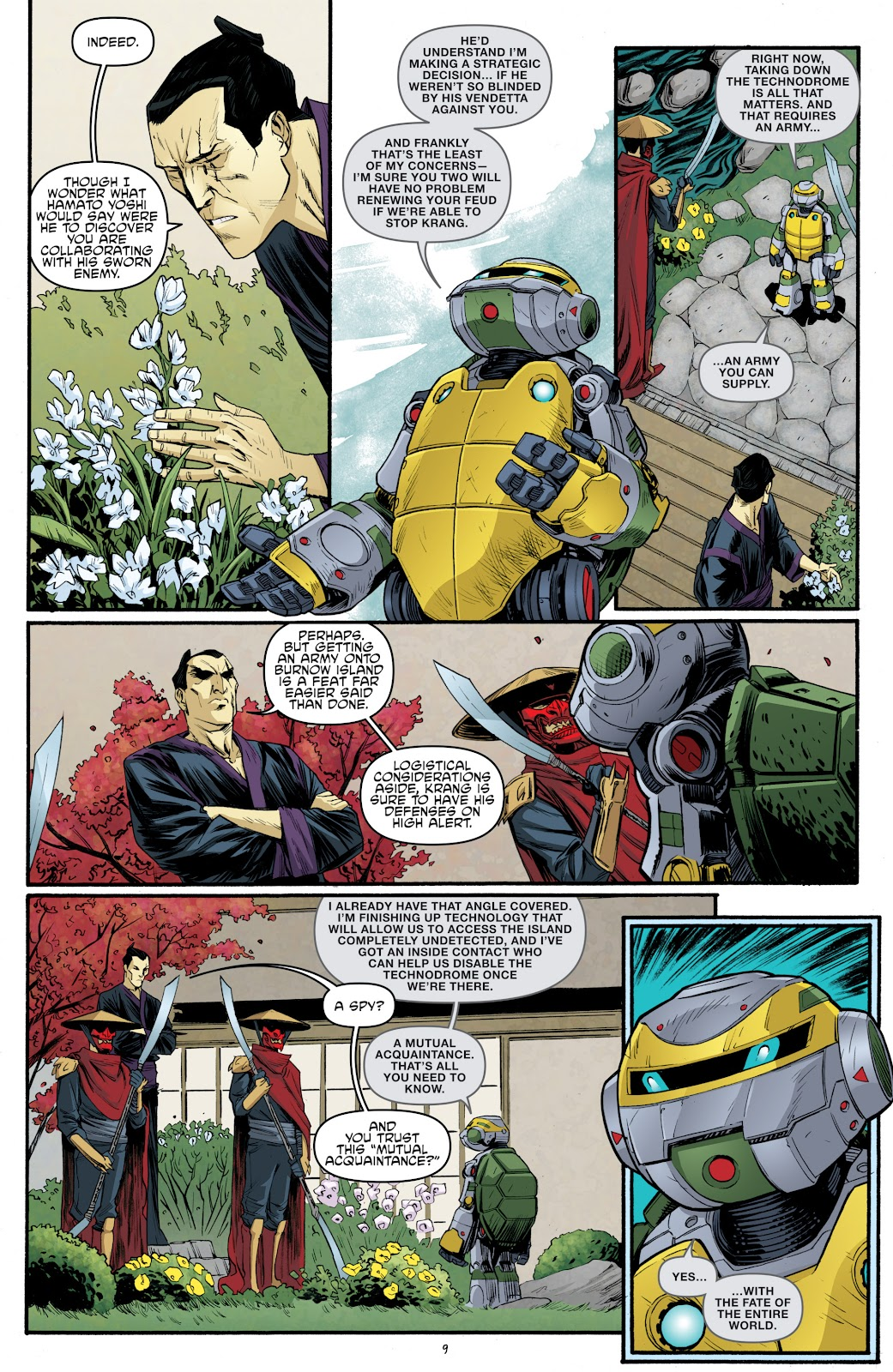 Read online Teenage Mutant Ninja Turtles: The IDW Collection comic -  Issue # TPB 5 (Part 3) - 68