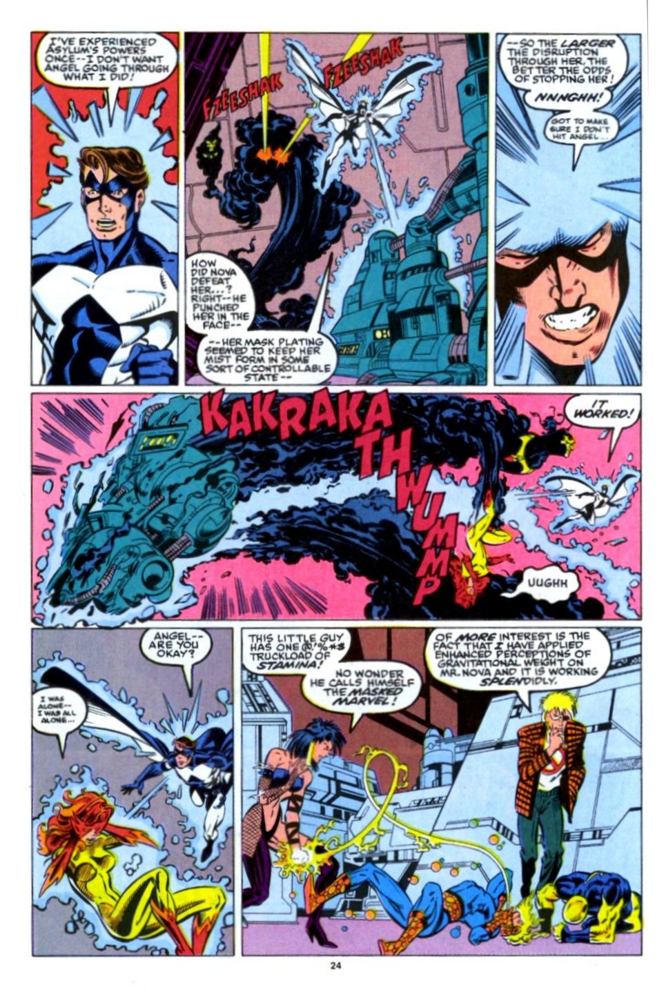 The New Warriors Issue #15 #19 - English 19