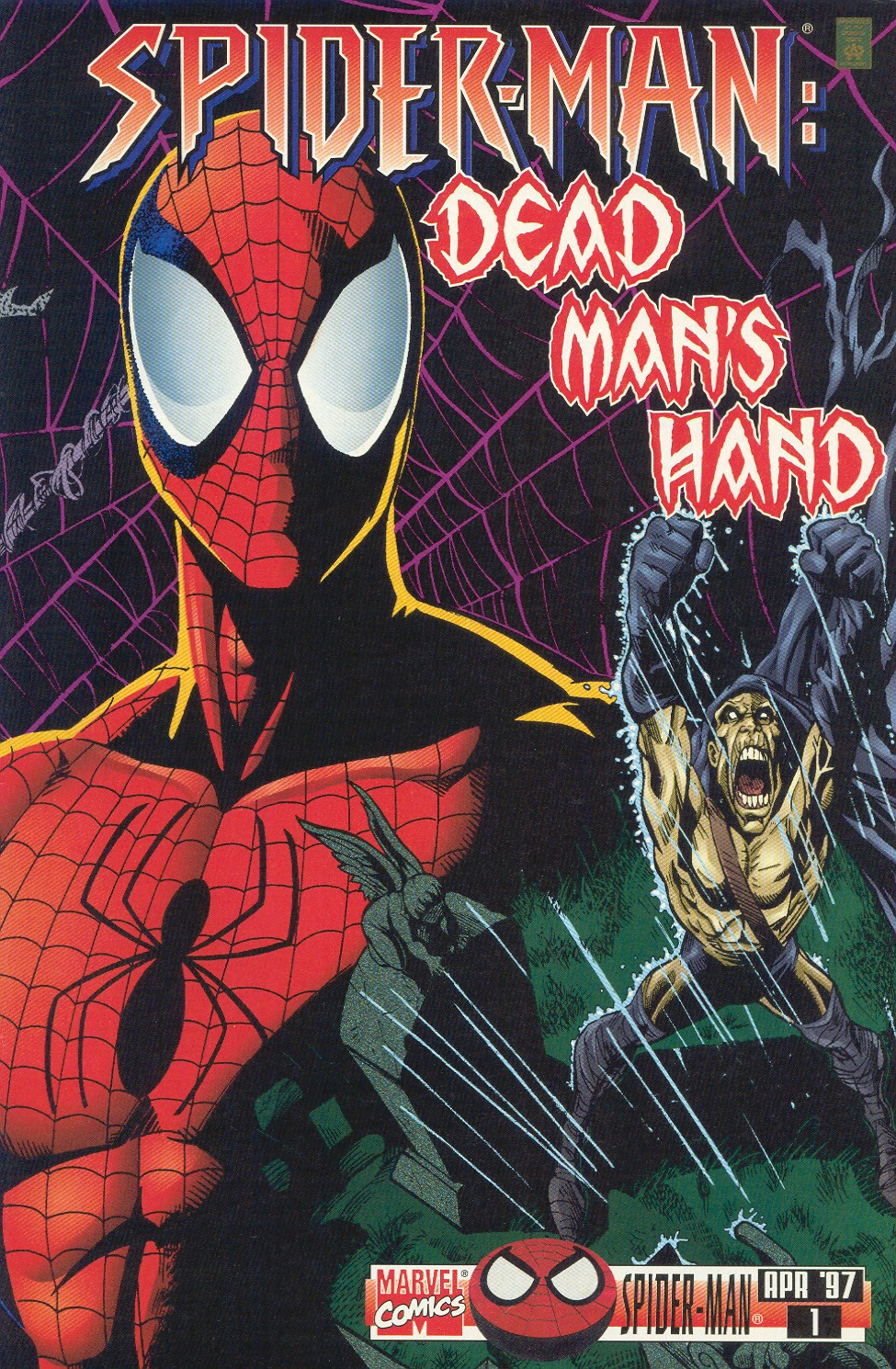 Spider-Man: Dead Man's Hand issue Full - Page 1