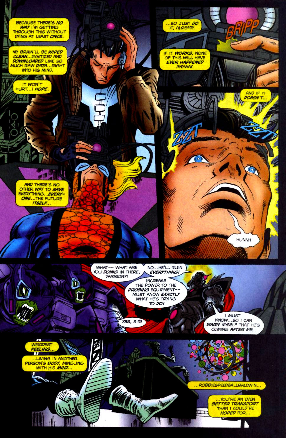 The New Warriors Issue #70 #74 - English 15