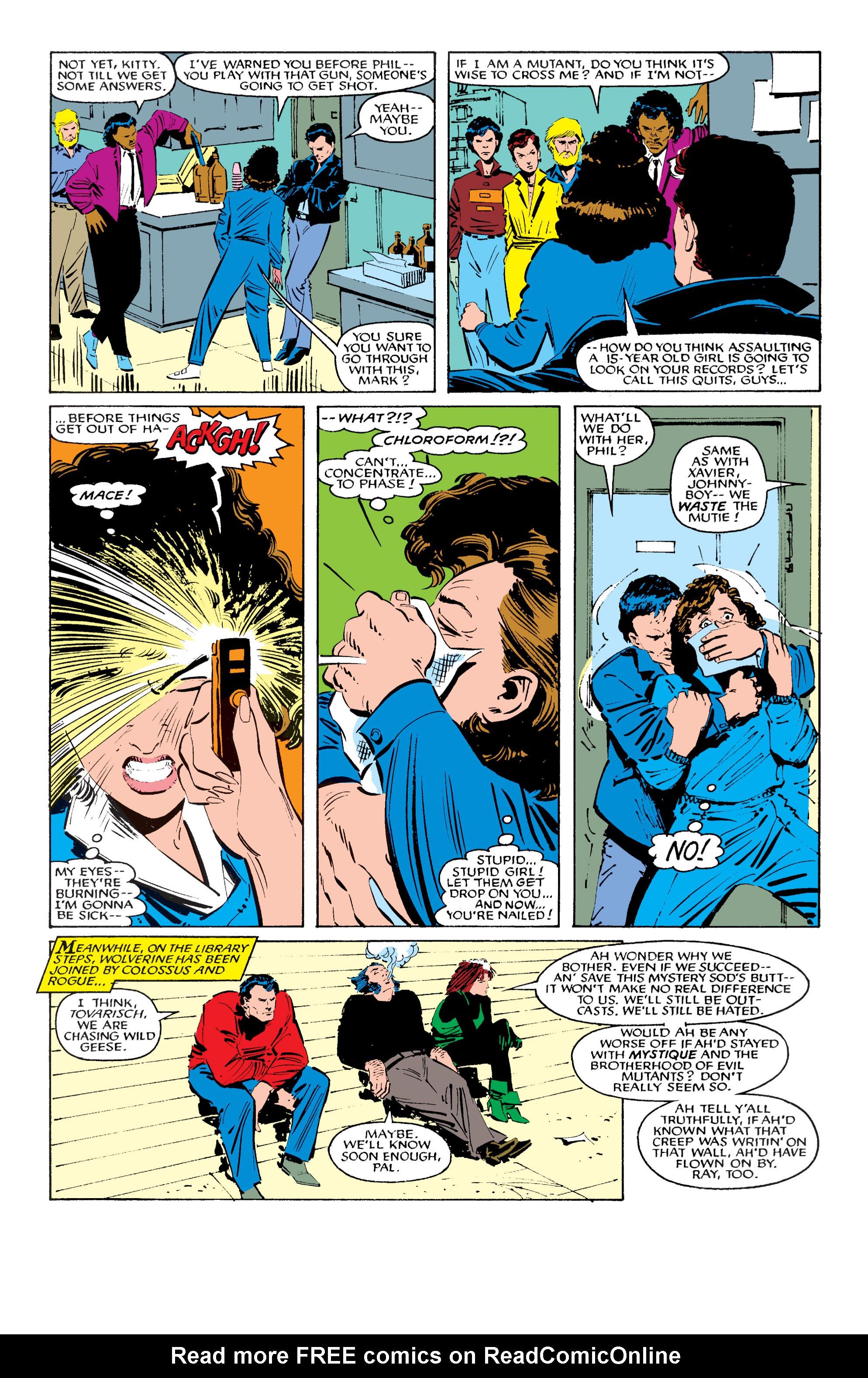 Read online Uncanny X-Men (1963) comic -  Issue #196 - 16