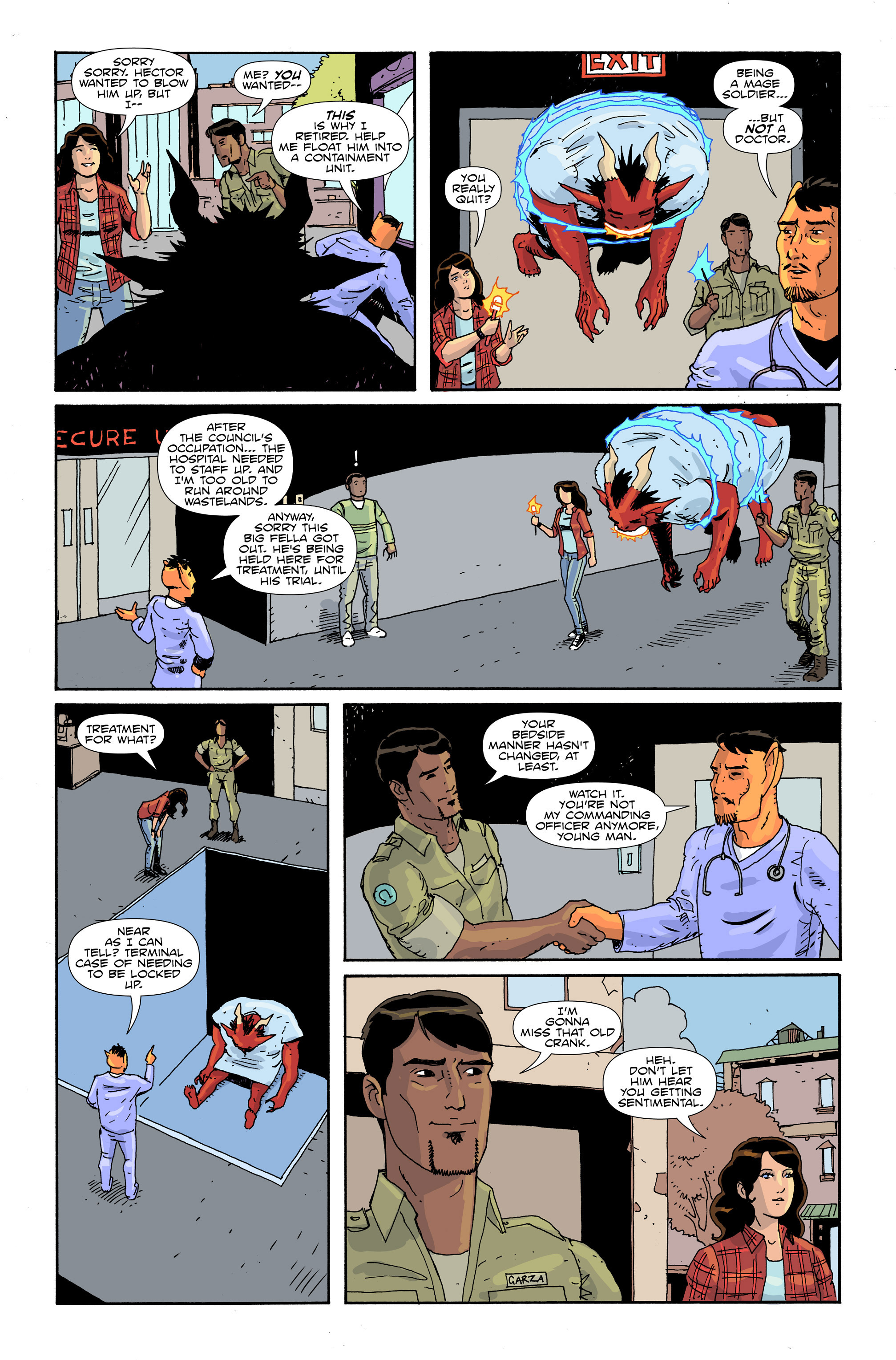 Read online Amelia Cole Versus The End of Everything comic -  Issue #30 - 9