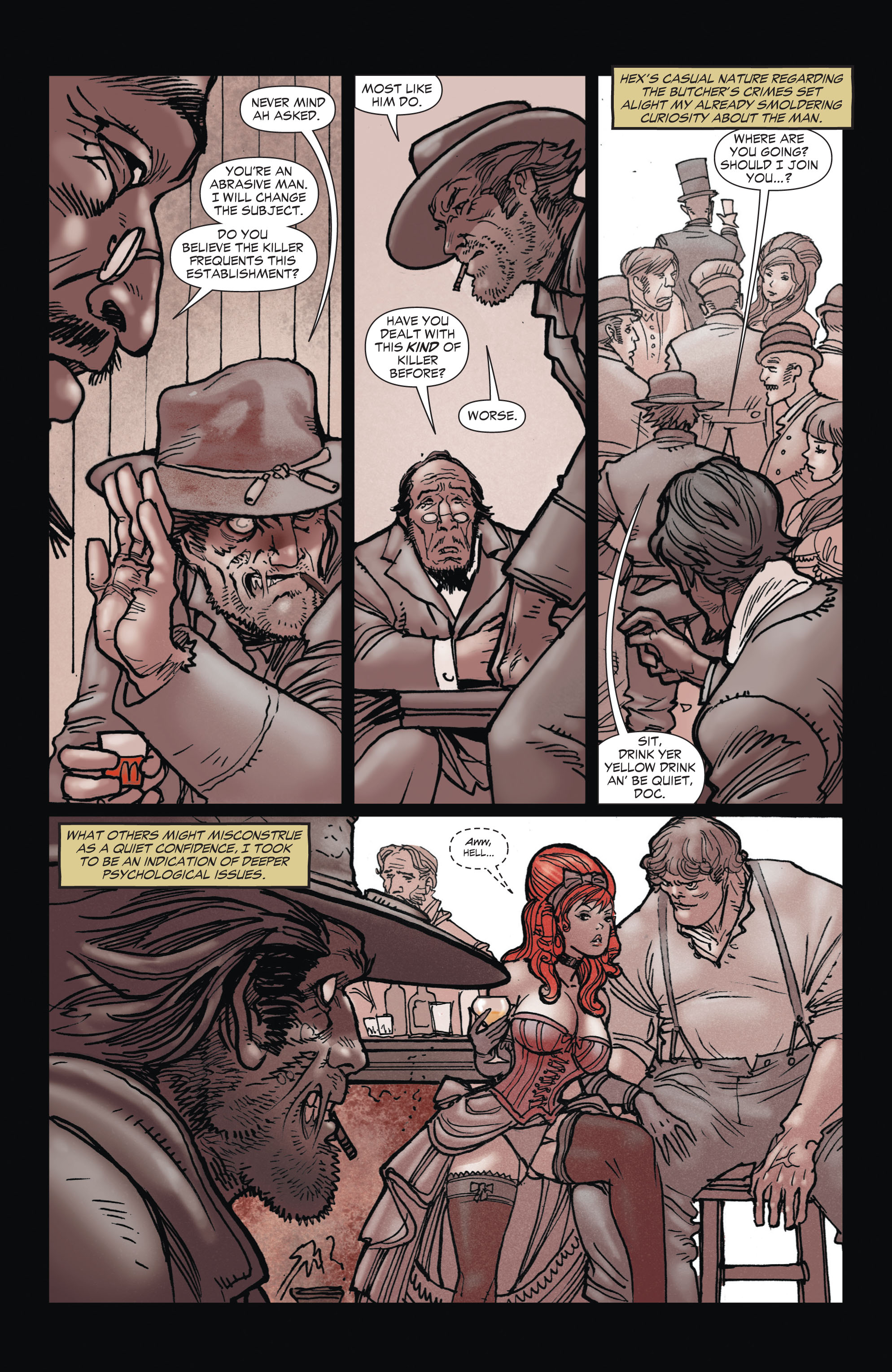 Read online All-Star Western (2011) comic -  Issue #1 - 13