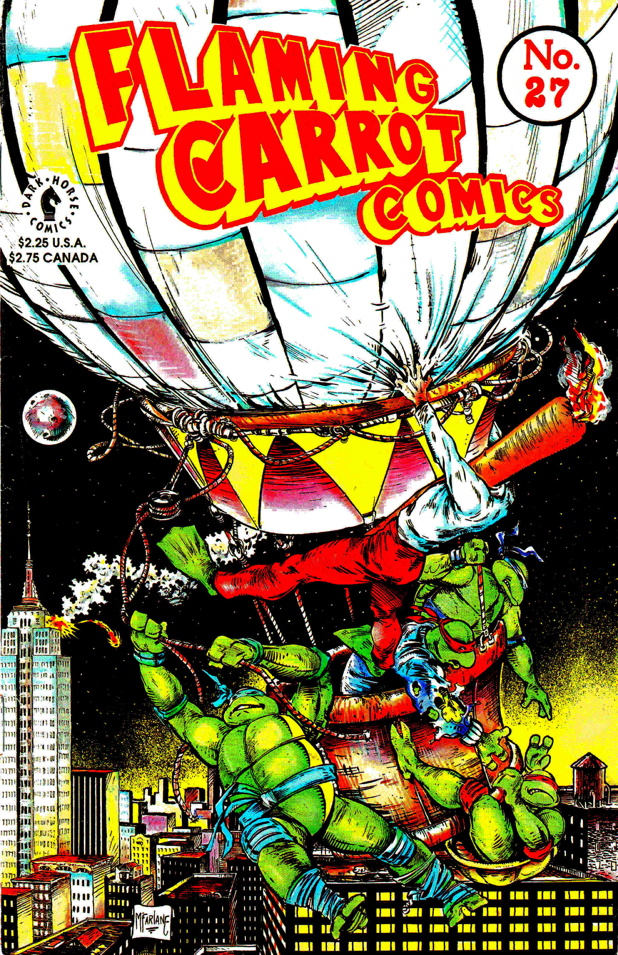 Read online Flaming Carrot Comics (1988) comic -  Issue #27 - 1
