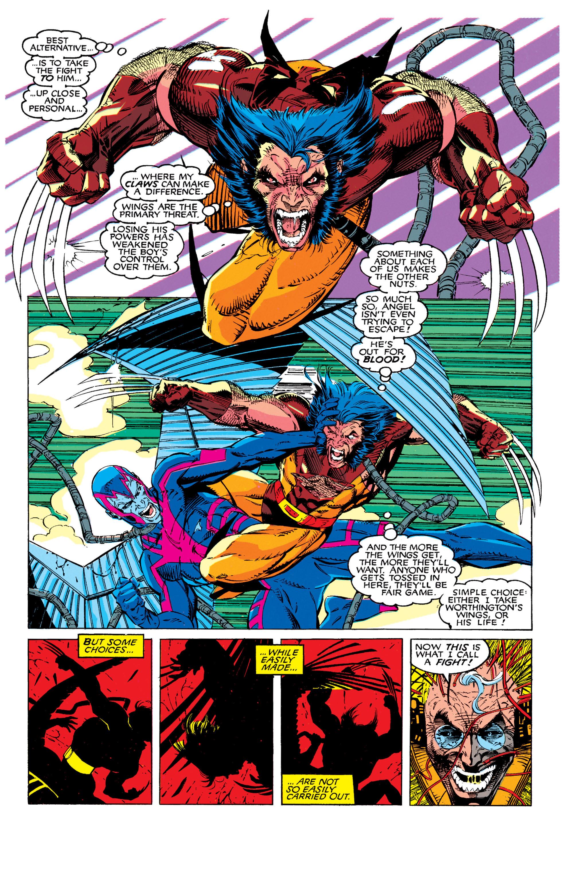 Read online Uncanny X-Men (1963) comic -  Issue #272 - 13