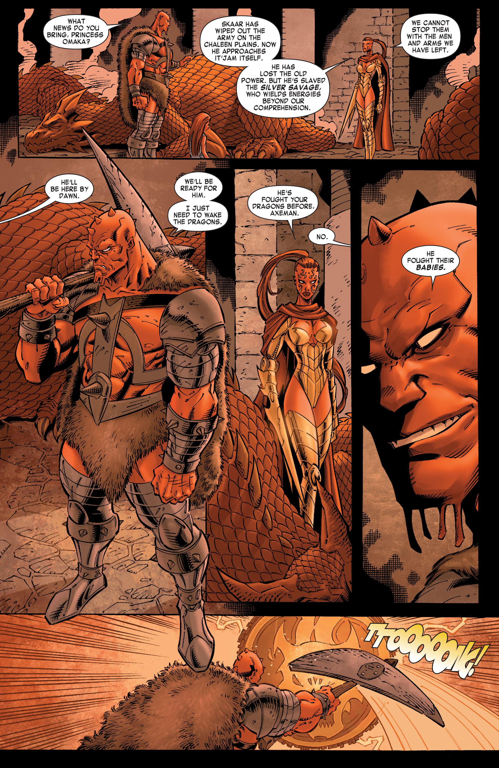 Read online Skaar: Son of Hulk comic -  Issue #8 - 14