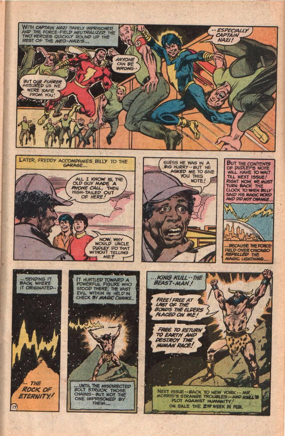 Read online Shazam! (1973) comic -  Issue #34 - 31