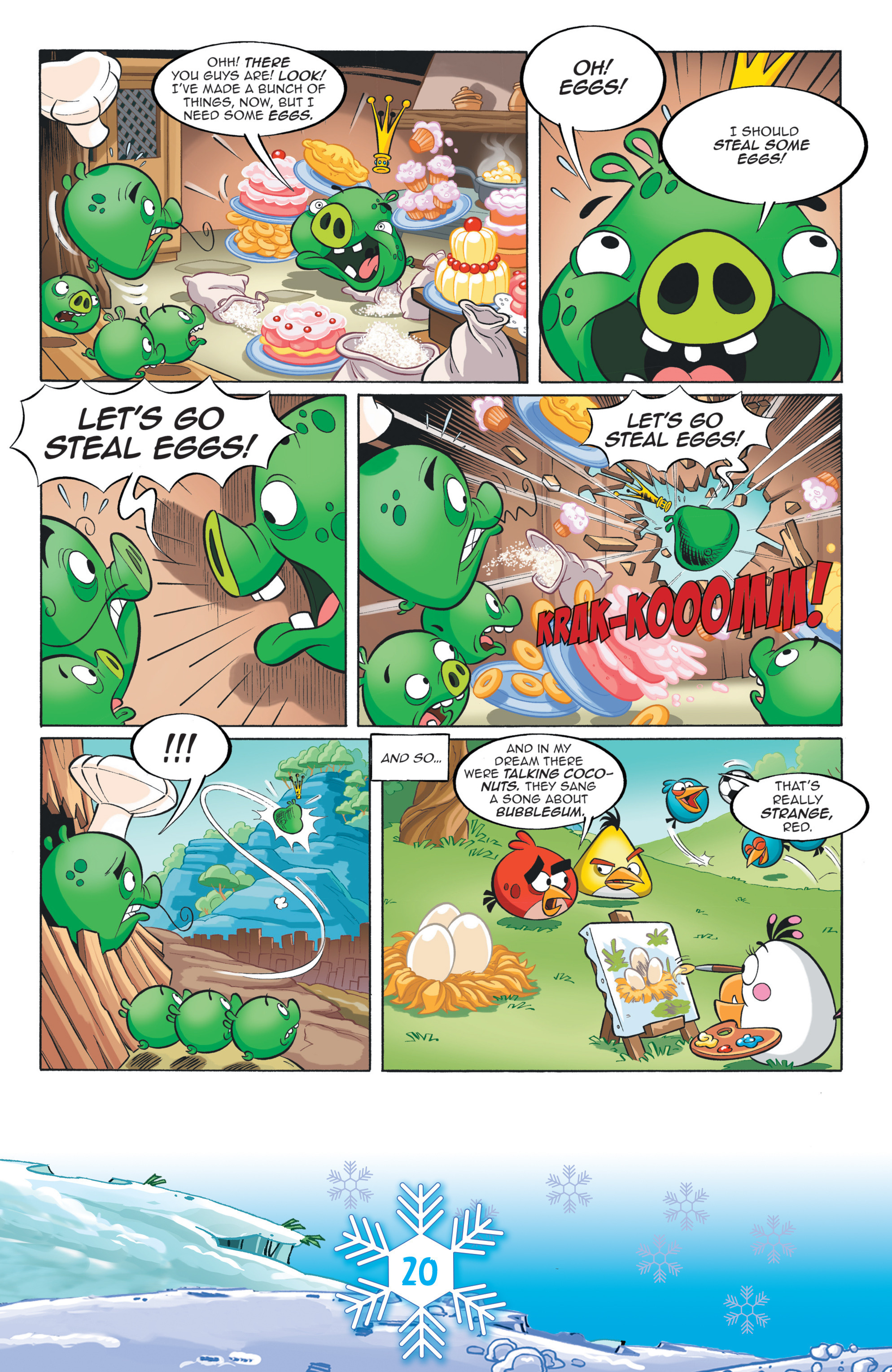 Read online Angry Birds Comics (2016) comic -  Issue #12 - 22