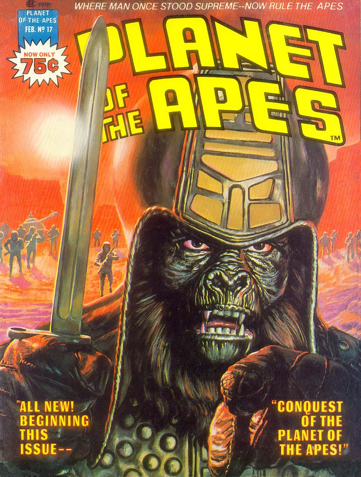 Planet of the Apes (1974) 17 Page 1