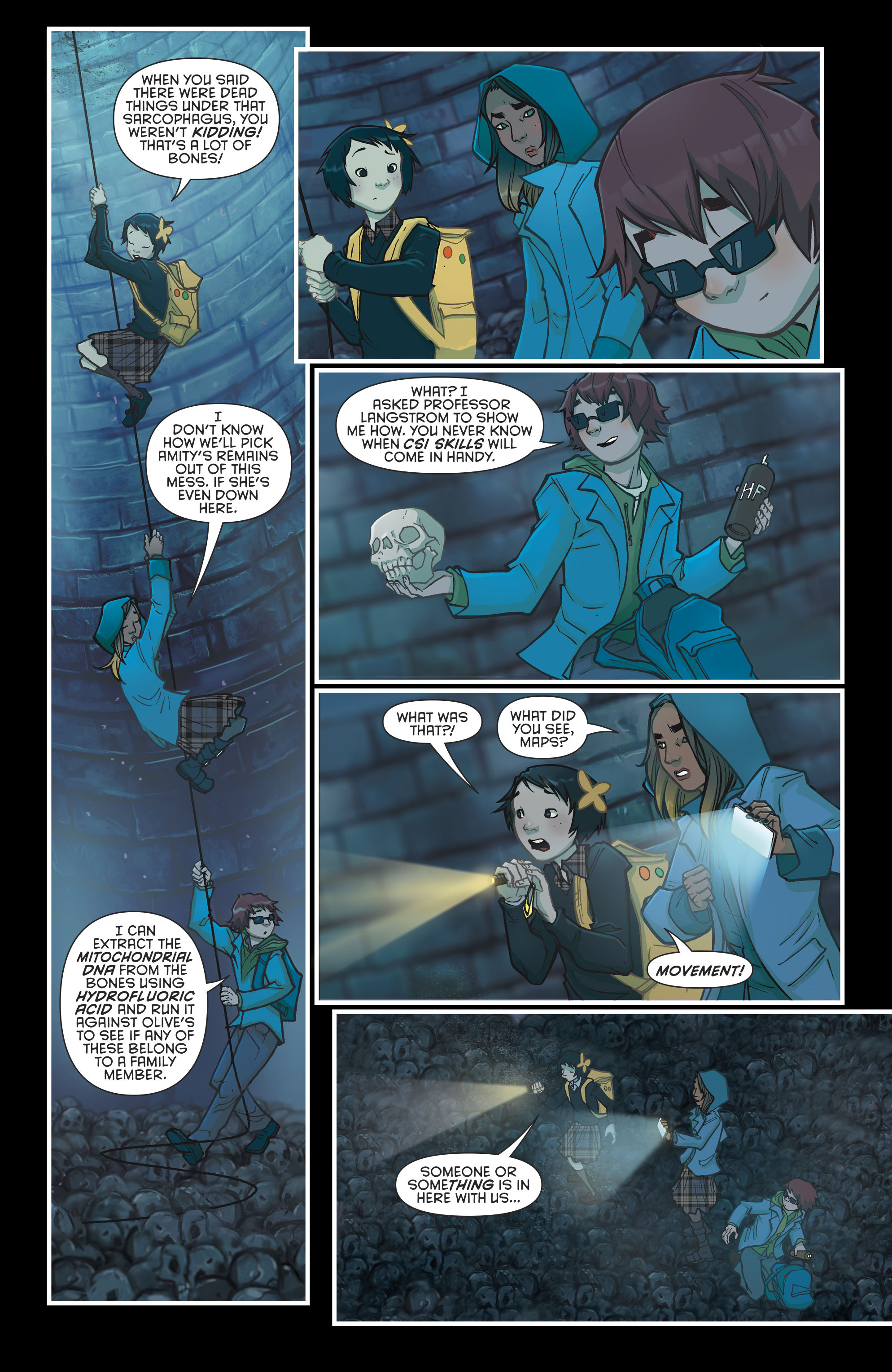 Read online Gotham Academy: Second Semester comic -  Issue #9 - 10