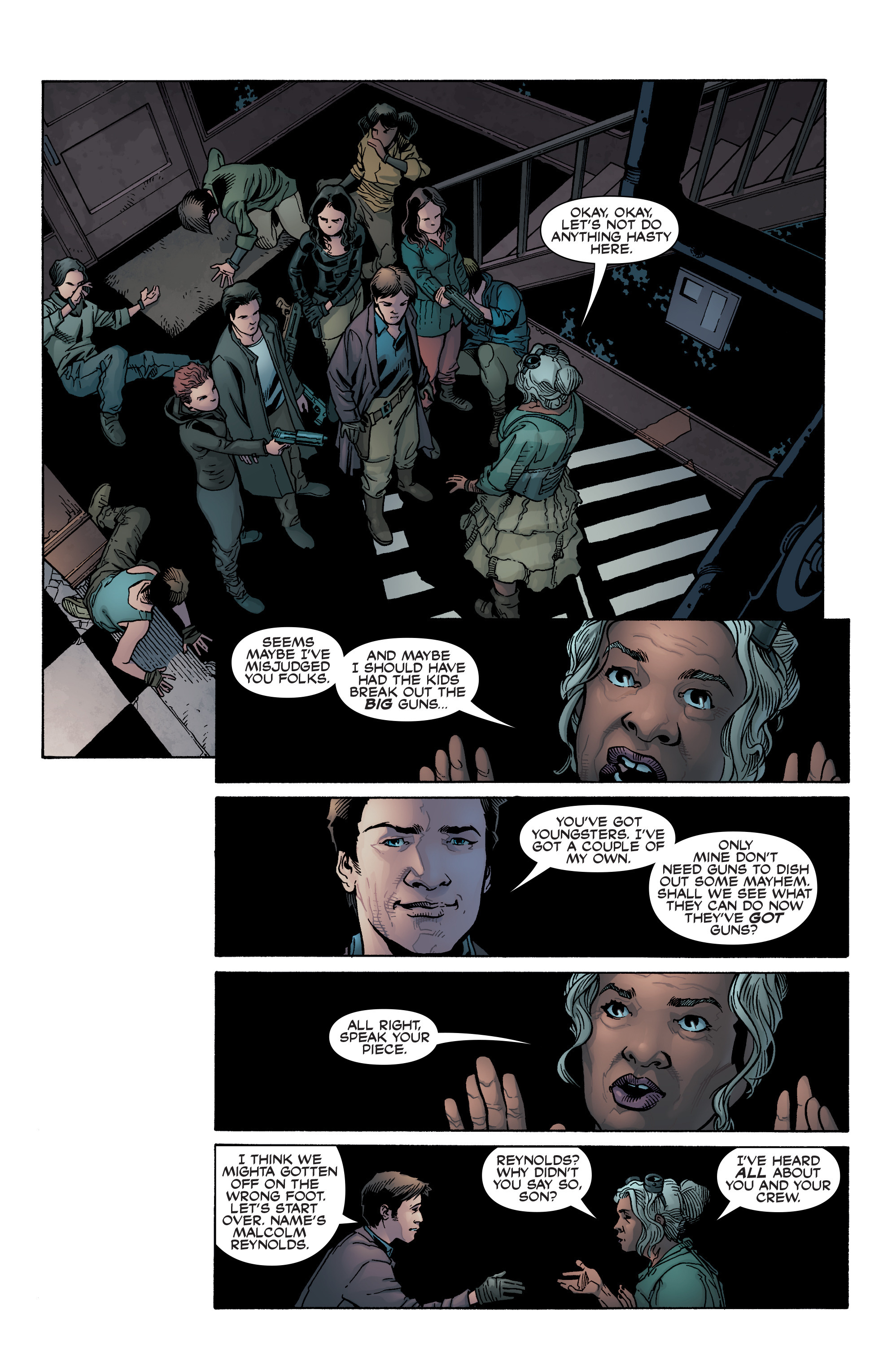 Read online Serenity: Firefly Class 03-K64 – No Power in the 'Verse comic -  Issue #2 - 6