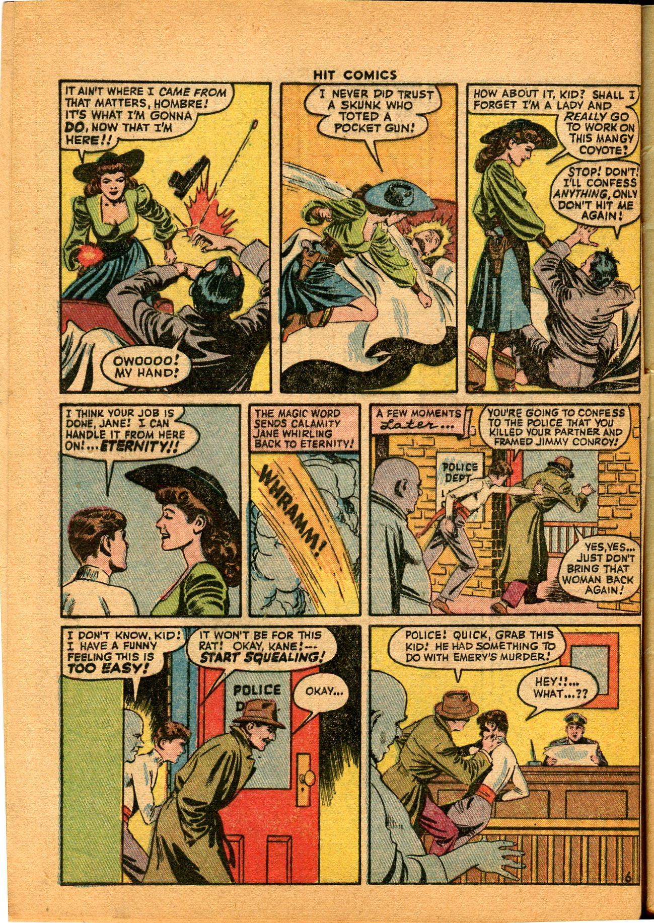 Read online Hit Comics comic -  Issue #35 - 8