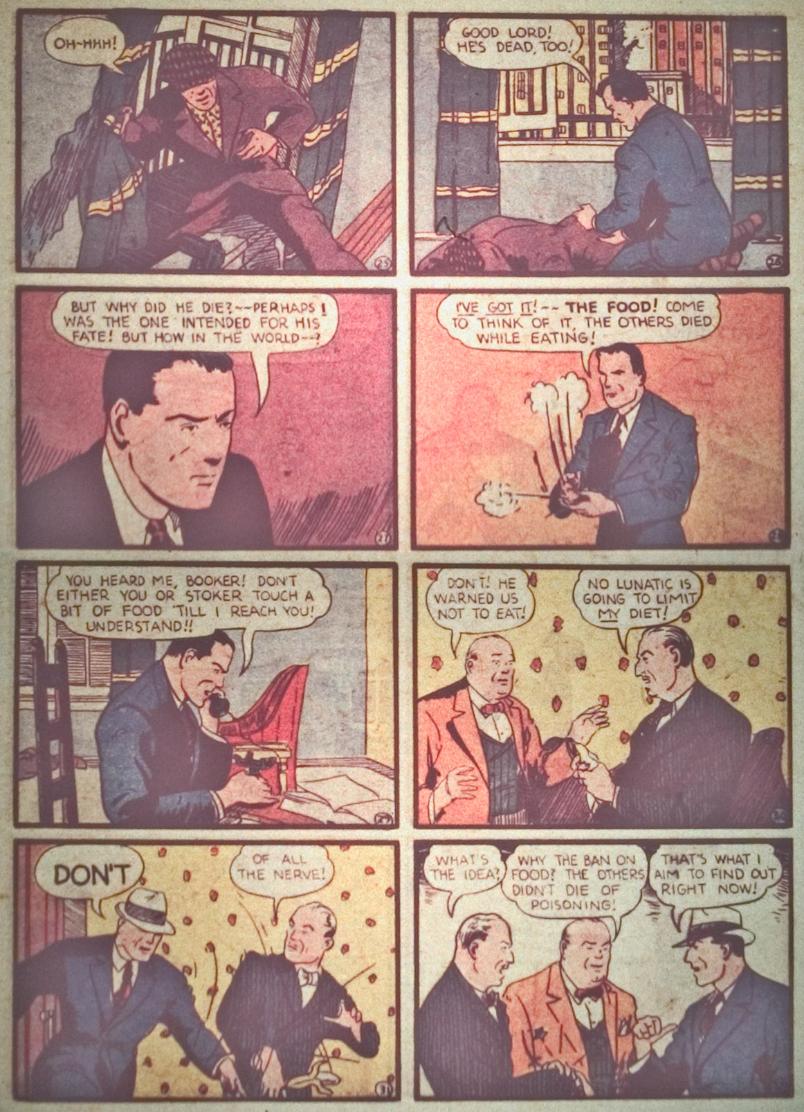 Read online Detective Comics (1937) comic -  Issue #27 - 26
