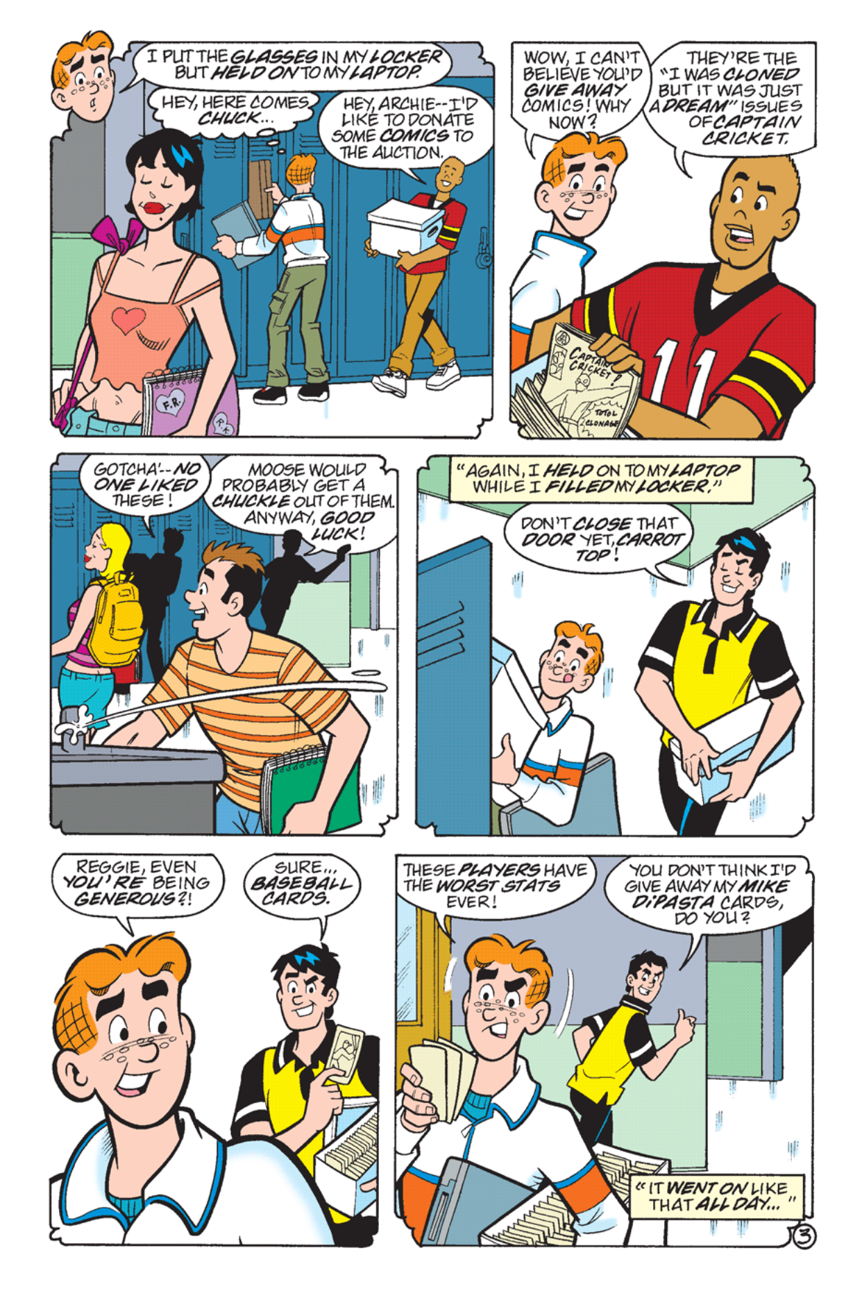Read online Archie's Weird Mysteries comic -  Issue #24 - 22