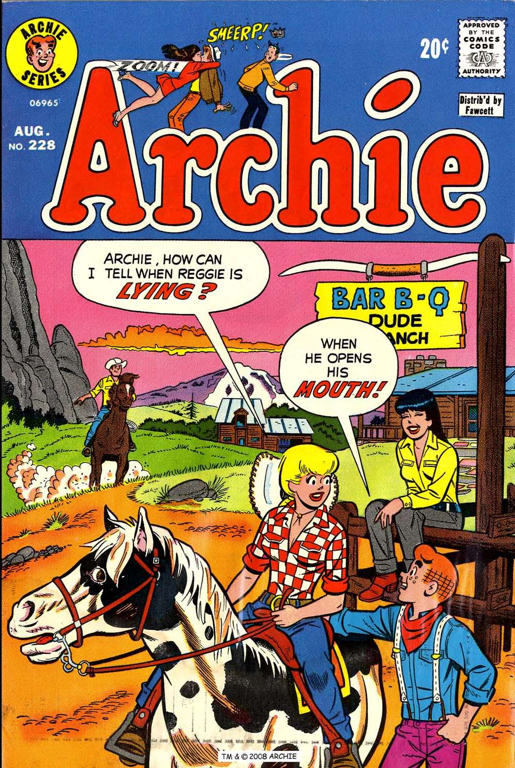 Read online Archie (1960) comic -  Issue #228 - 1