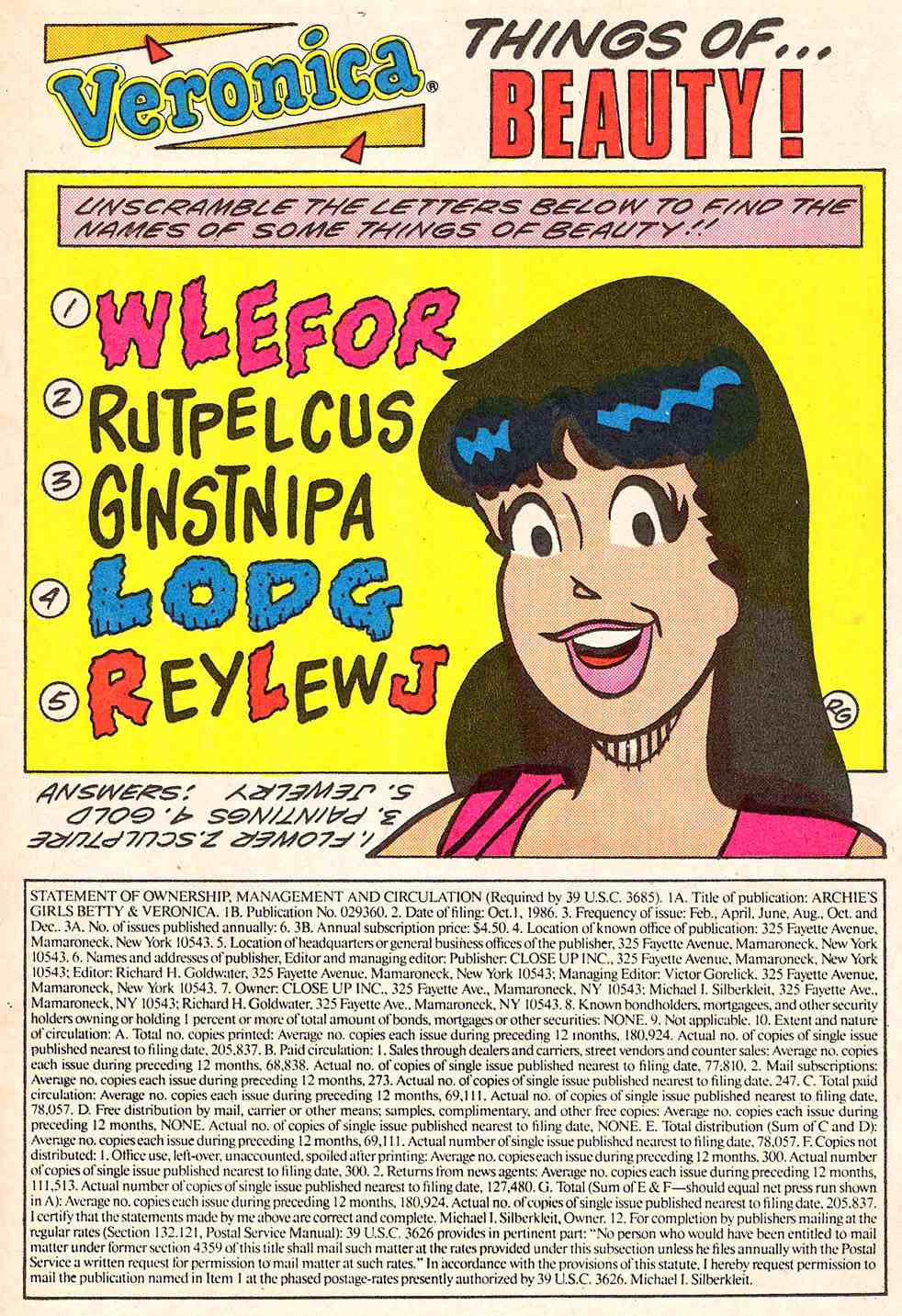 Read online Archie's Girls Betty and Veronica comic -  Issue #347 - 11