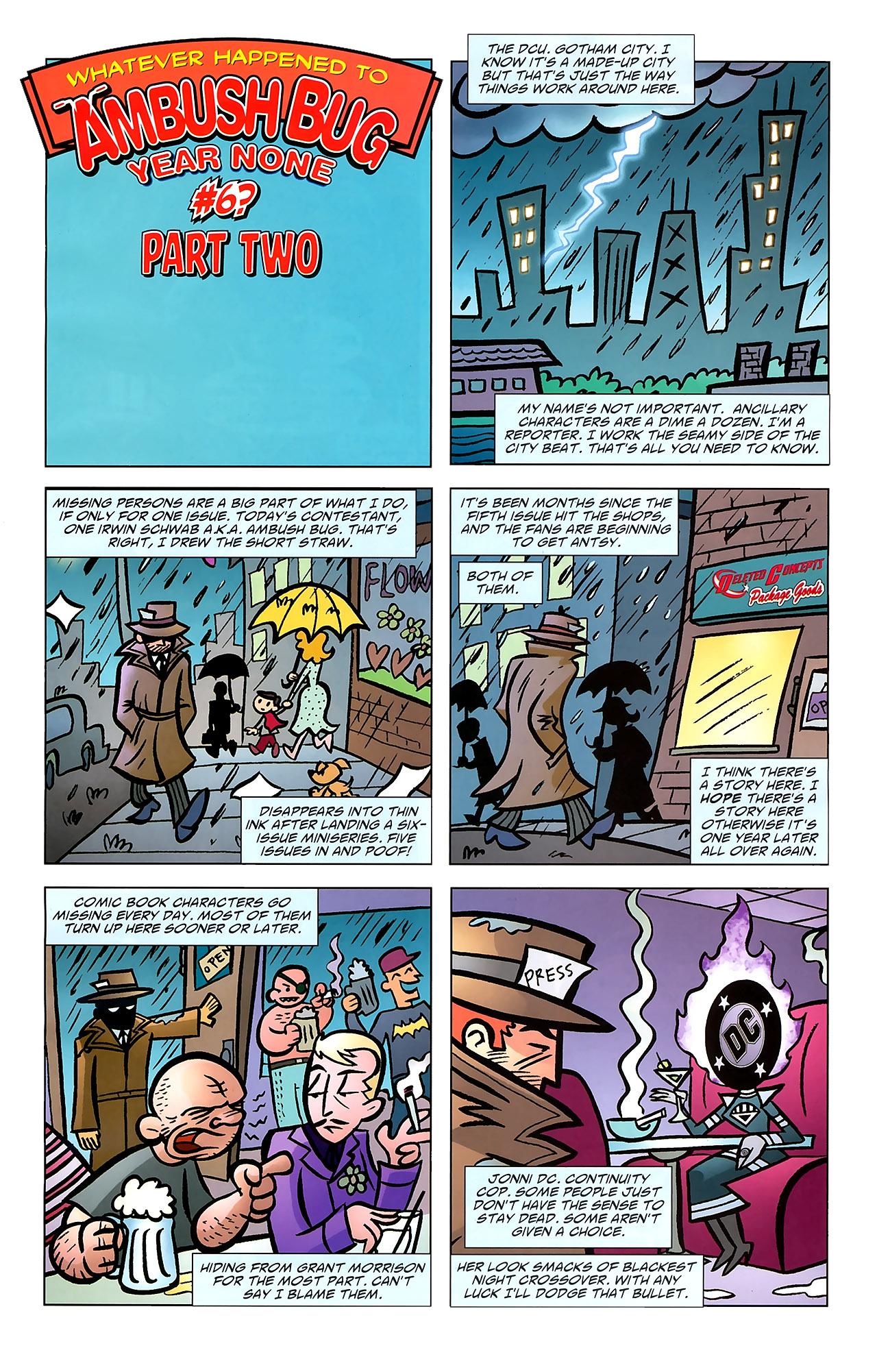Read online Ambush Bug: Year None comic -  Issue #7 - 4