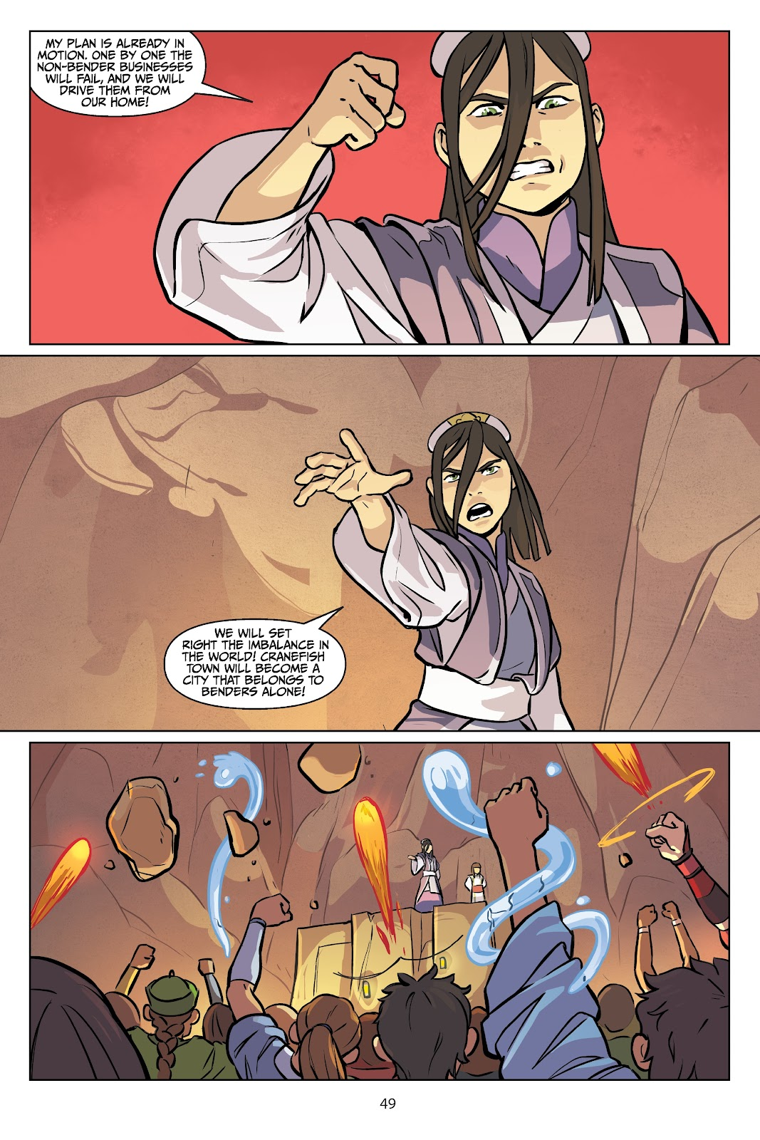 Read online Nickelodeon Avatar: The Last Airbender - Imbalance comic -  Issue # TPB 2 - 50
