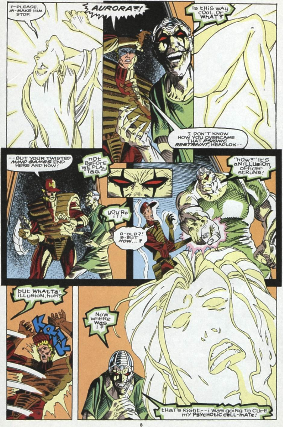 Read online Alpha Flight (1983) comic -  Issue #104 - 7