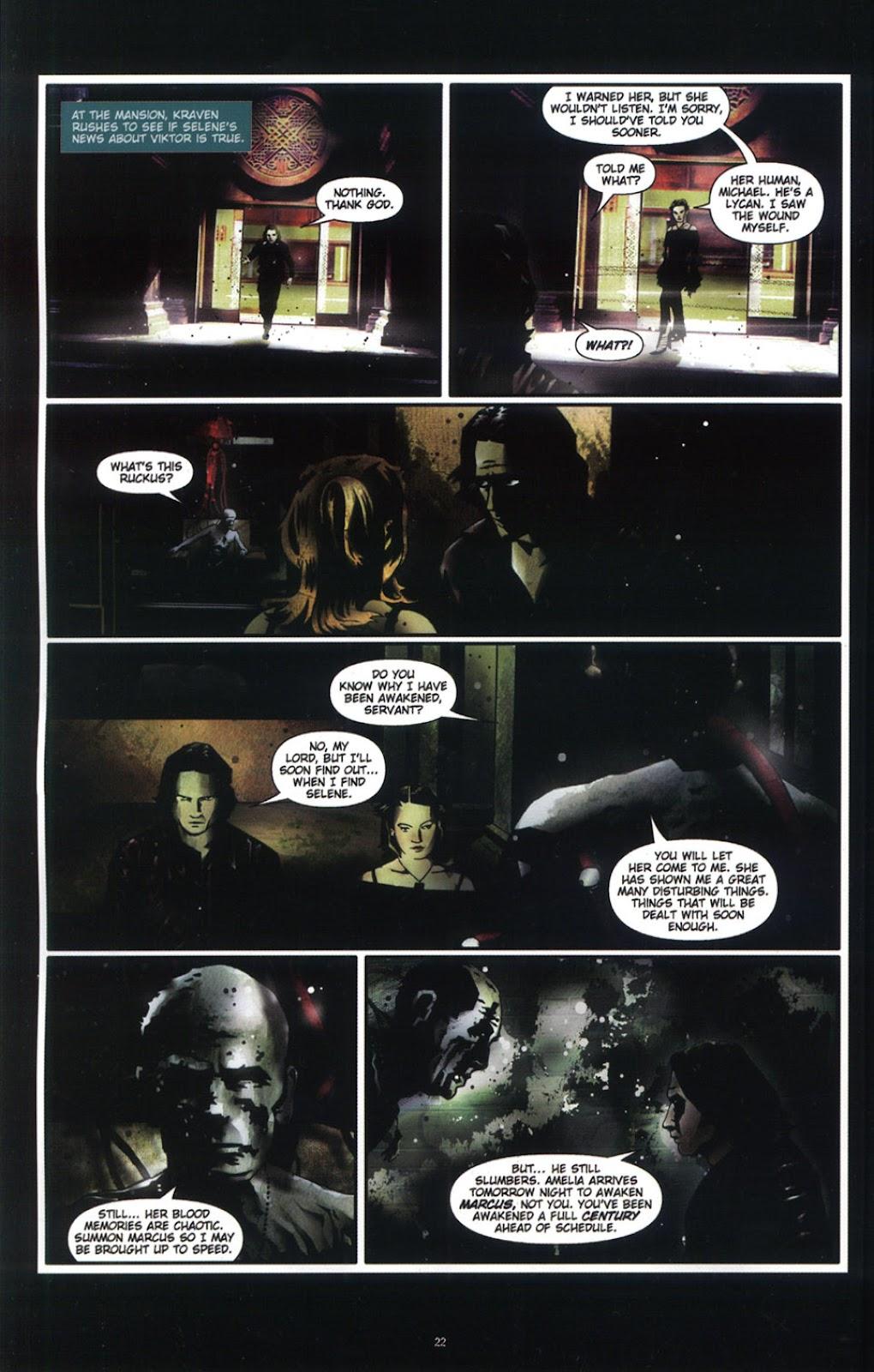 Read online Underworld (2003) comic -  Issue # Full - 24